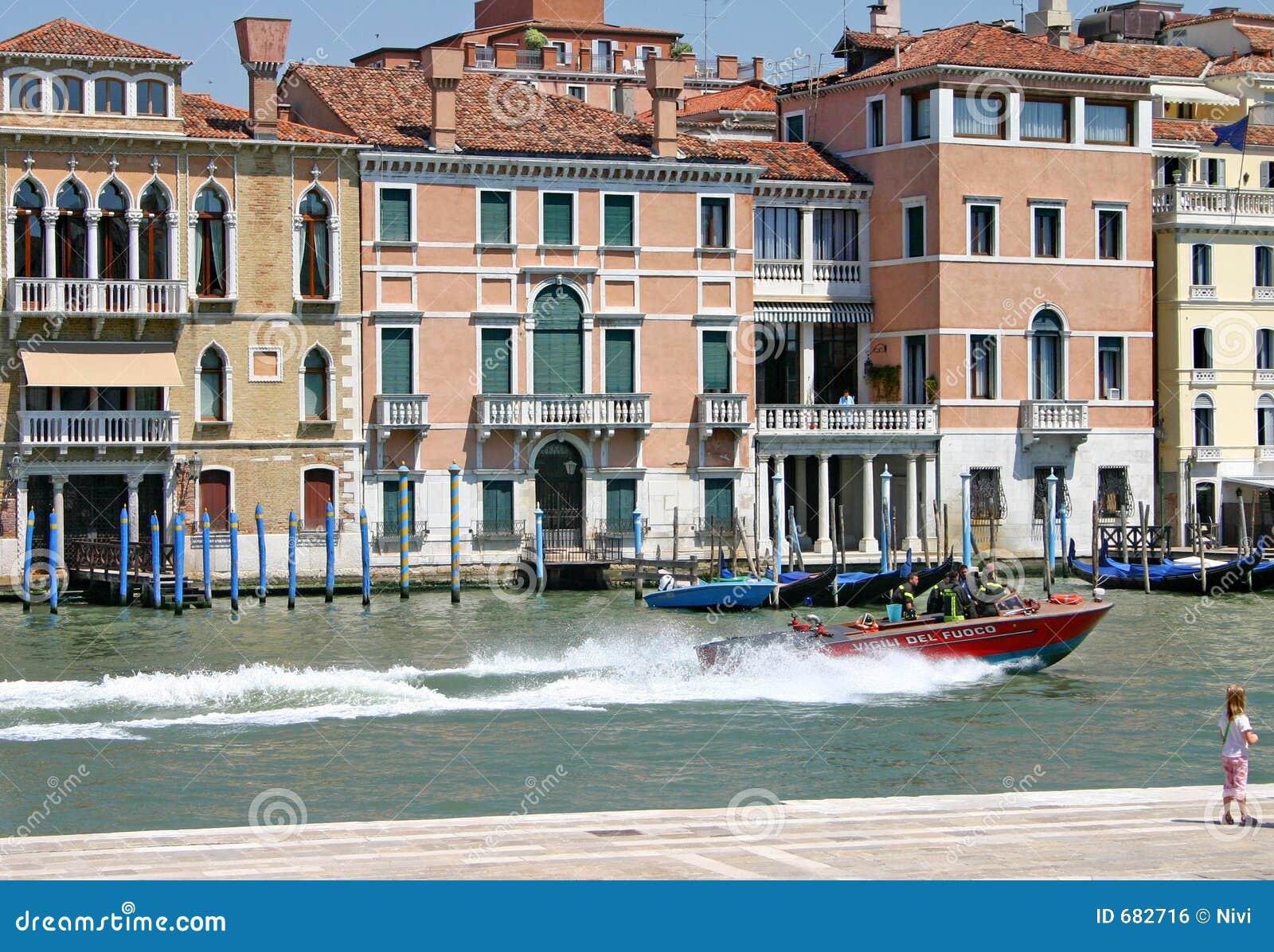 Großartiger Kanal von Venedig