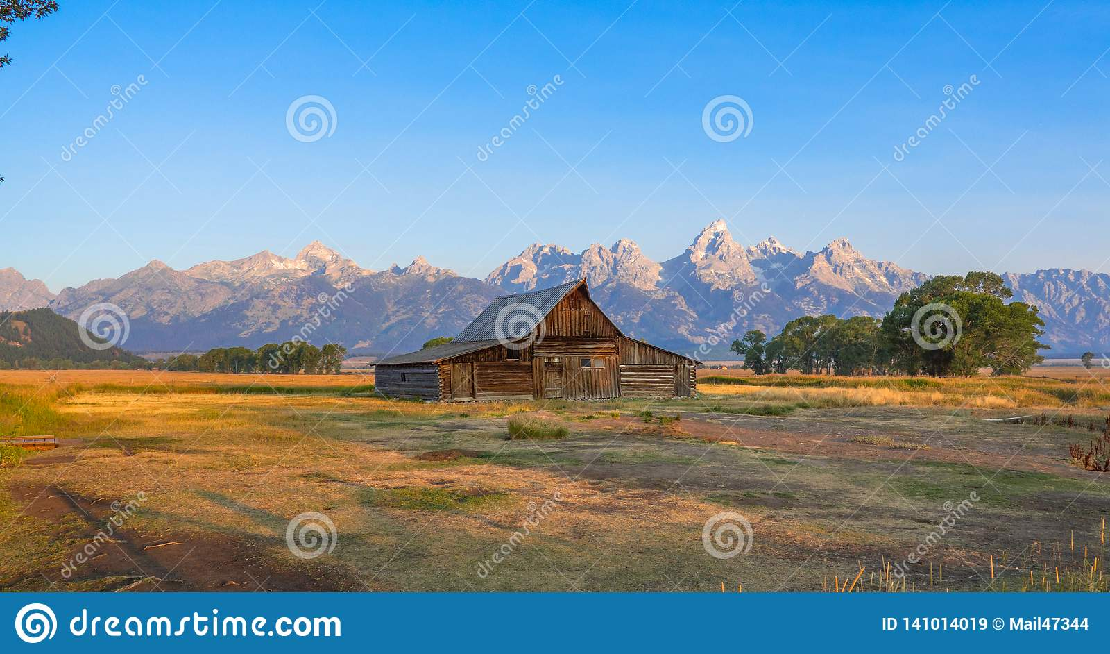 Großartiger Nationalpark Teton, WY, USA