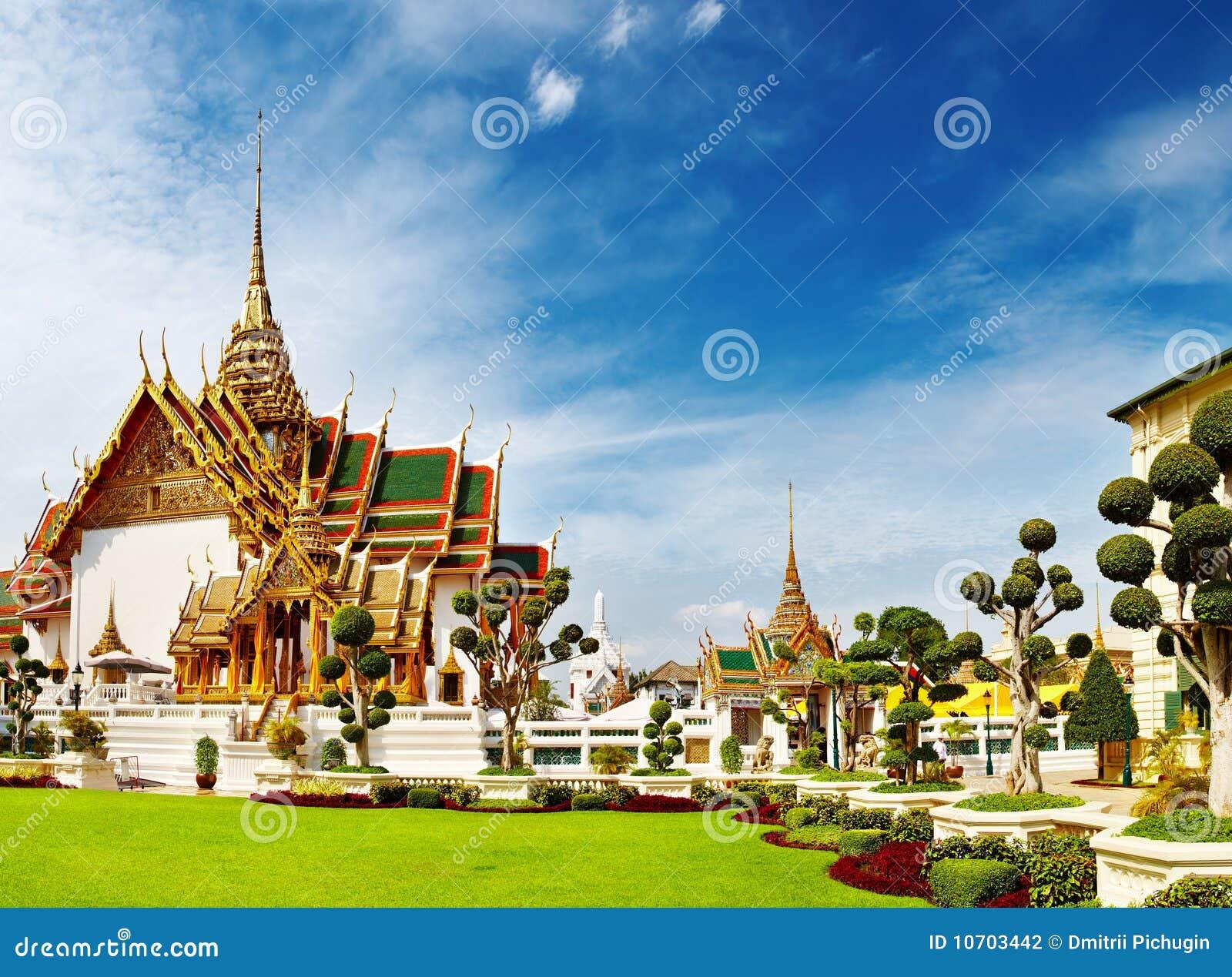 Großartiger Palast Bangkok Thailand