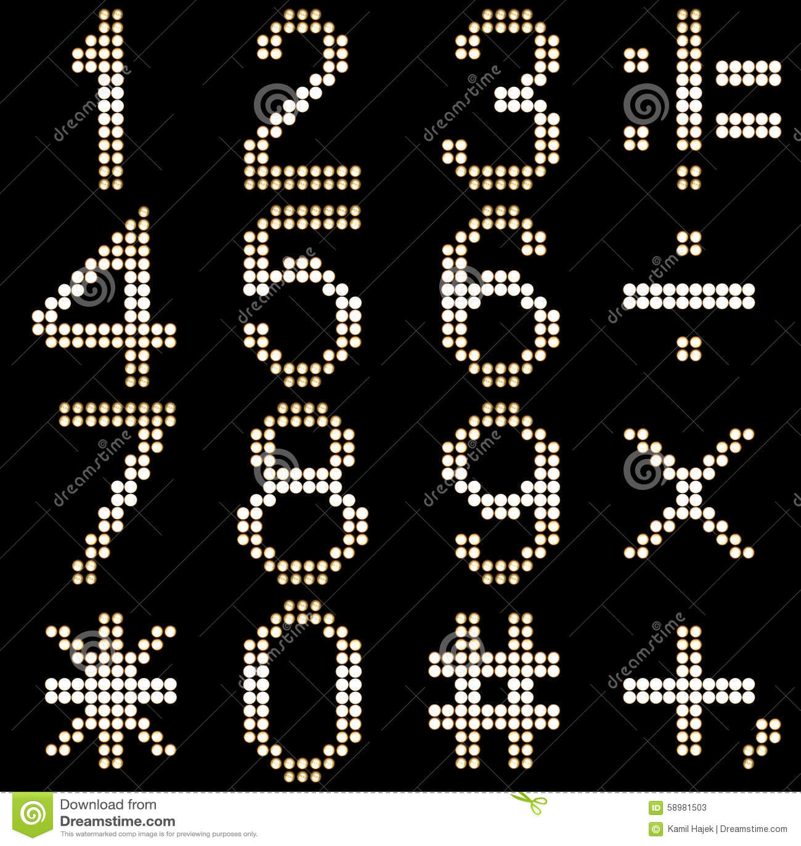 Beste Geführtes Elektronisches Symbol Bilder - Schaltplan Serie ...