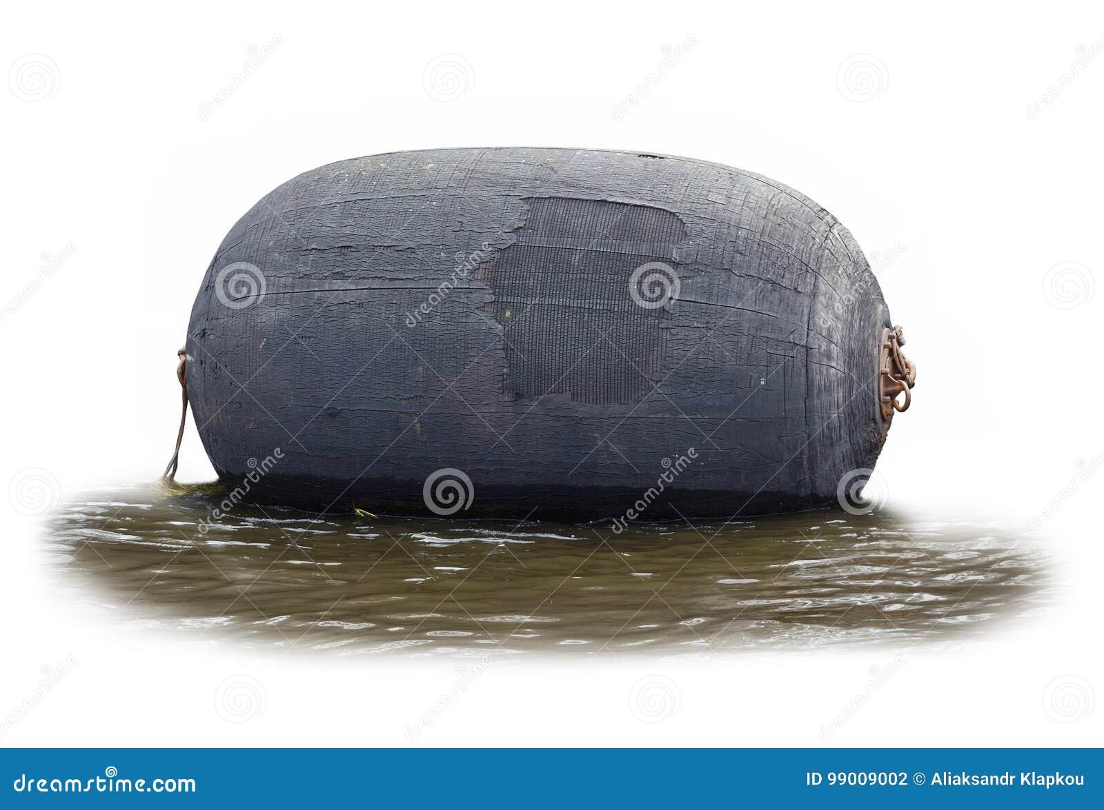 Große Gummiboje