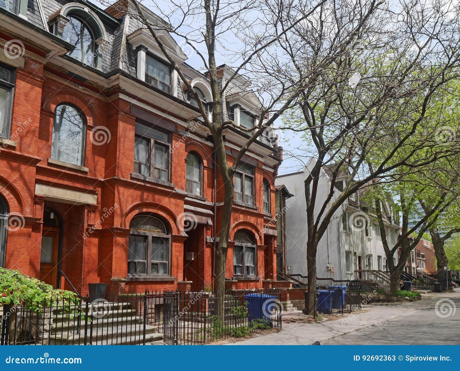 Außergewöhnlich Häuser Stile Galerie Von Pattern Große Häuser Des Viktorianischen Stils Stockbild