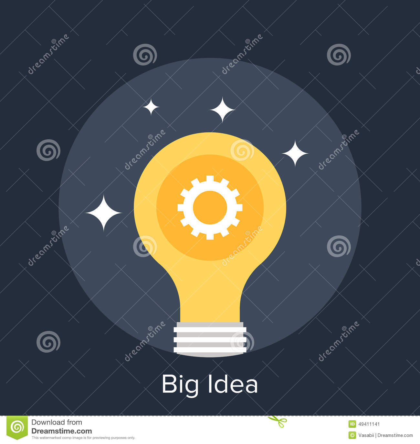 Download Große Idee stockbild. Bild von digital, geschäft, internet - 49411141