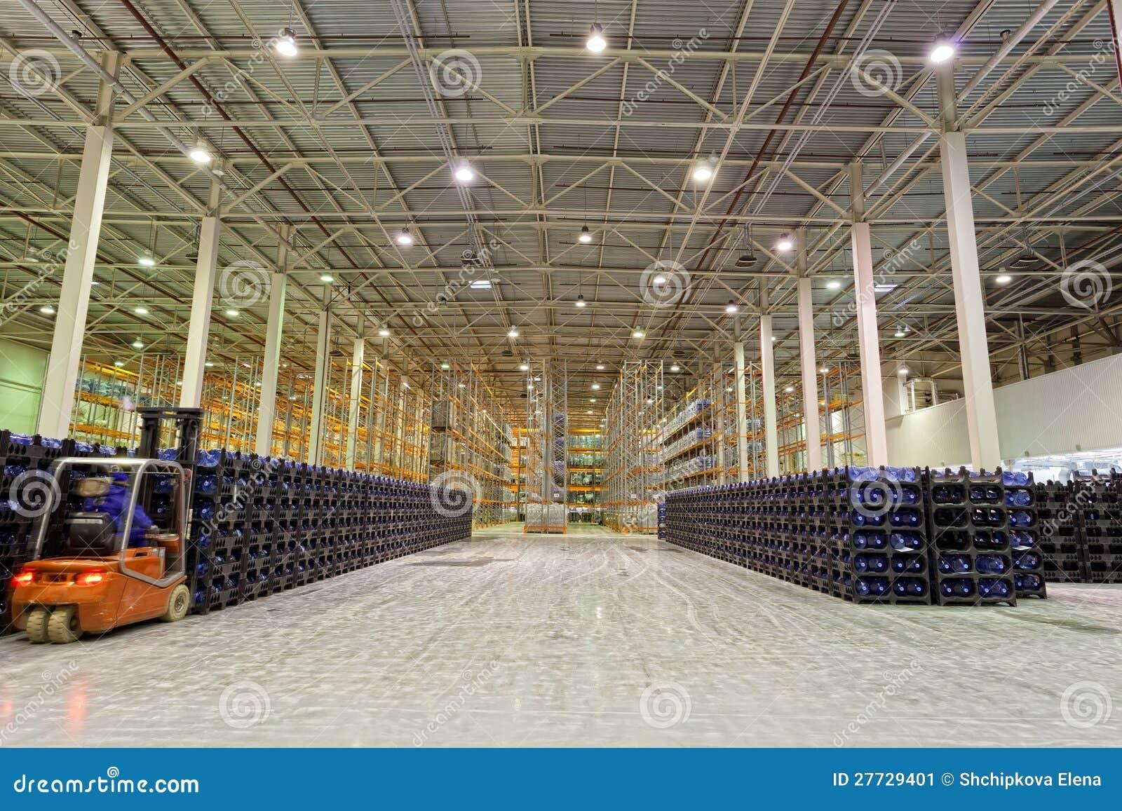 Große Konstitution für Speicherung von Fertigwaren