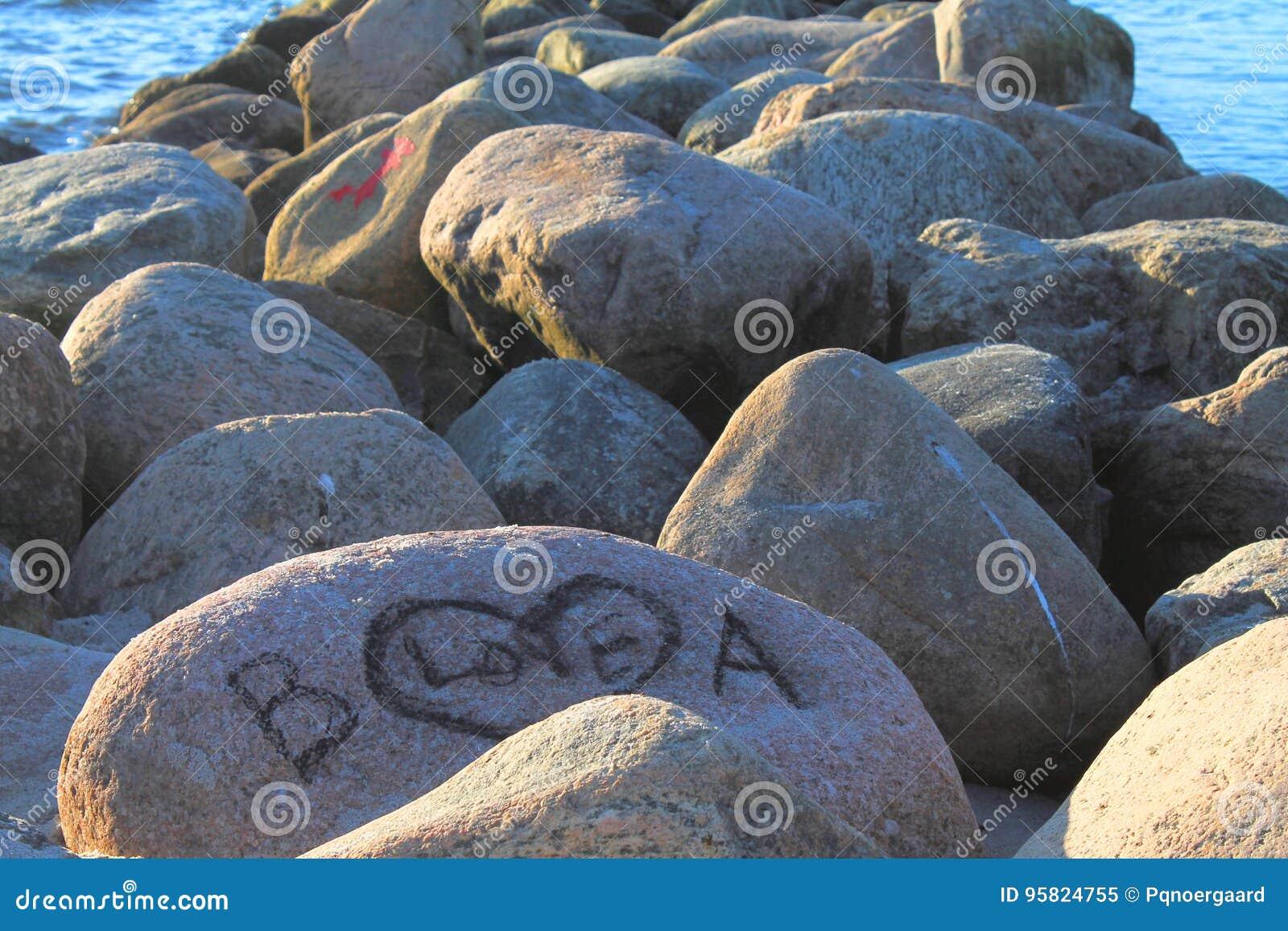 Große Steine Strand