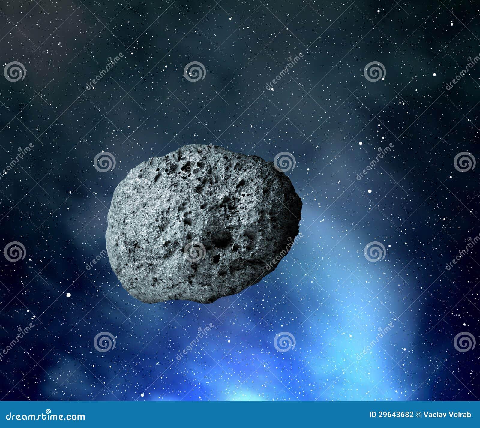 Großer Asteroid