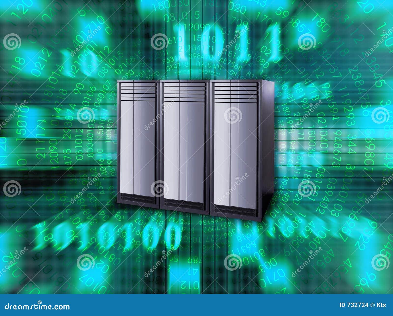 Großer Server