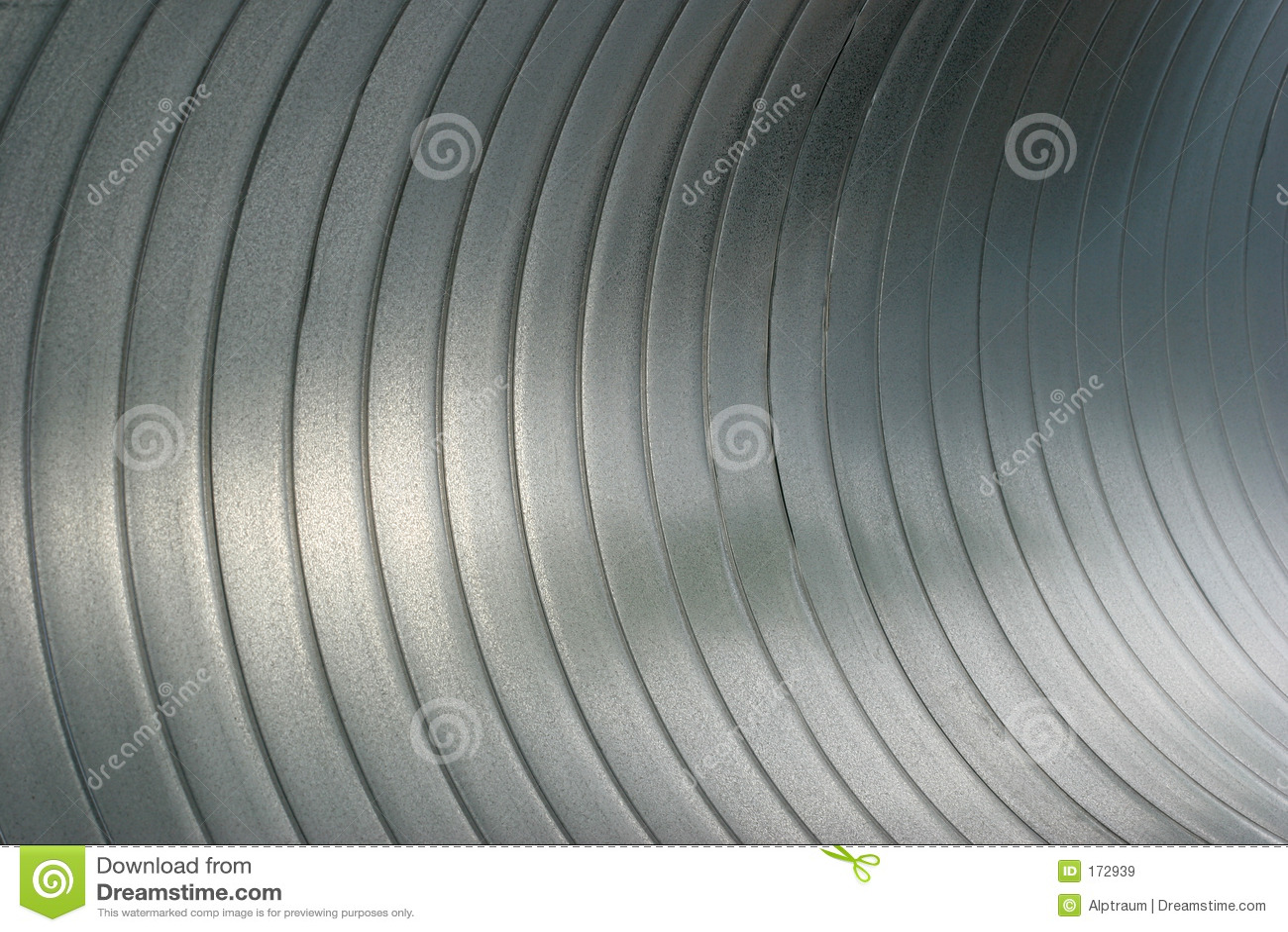 Großer Stahlschläuche des nahen oben Inneres des Auszuges