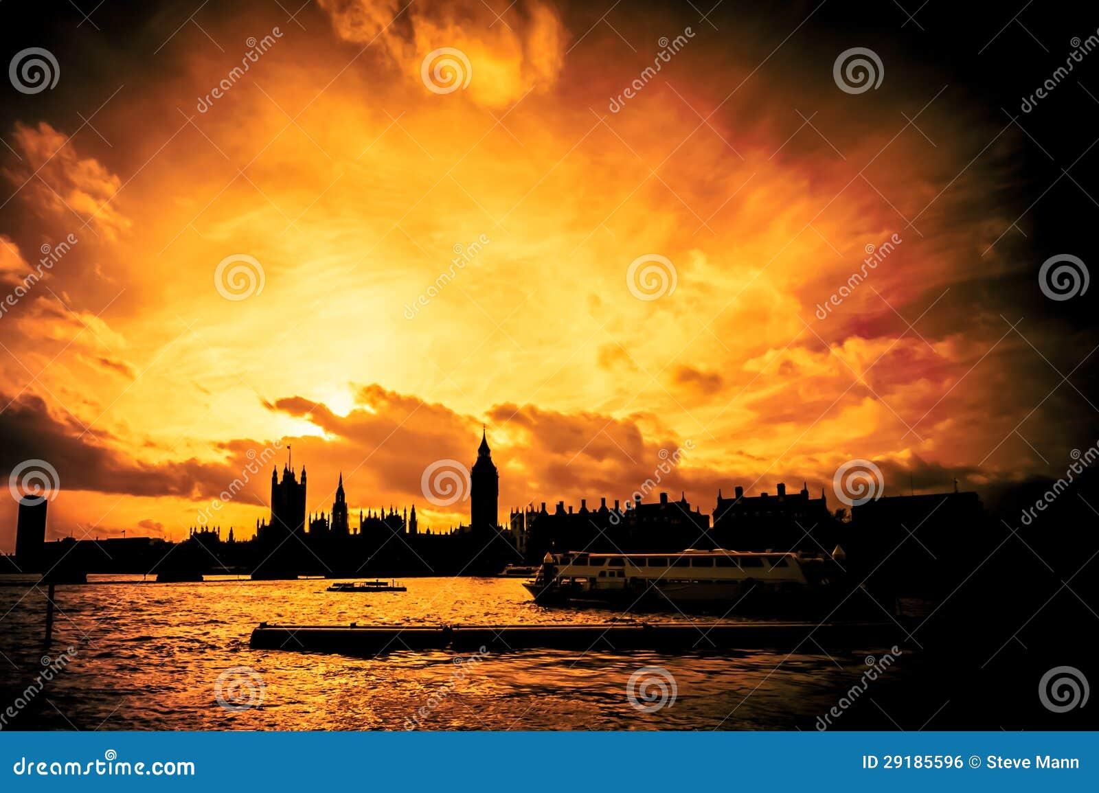 Großes Feuer von London