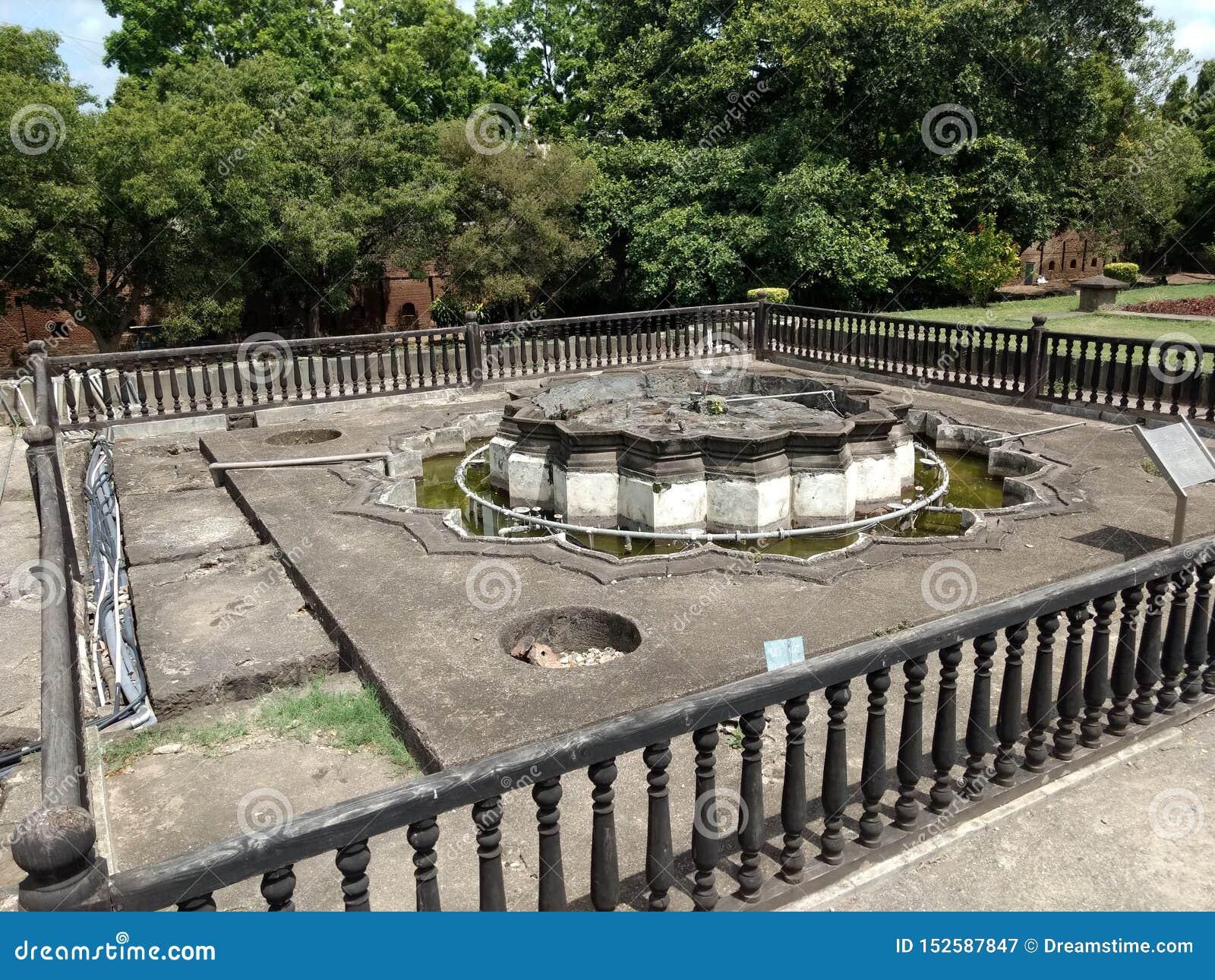 Großes hindisches Krieger Peshwa-Haus von innen