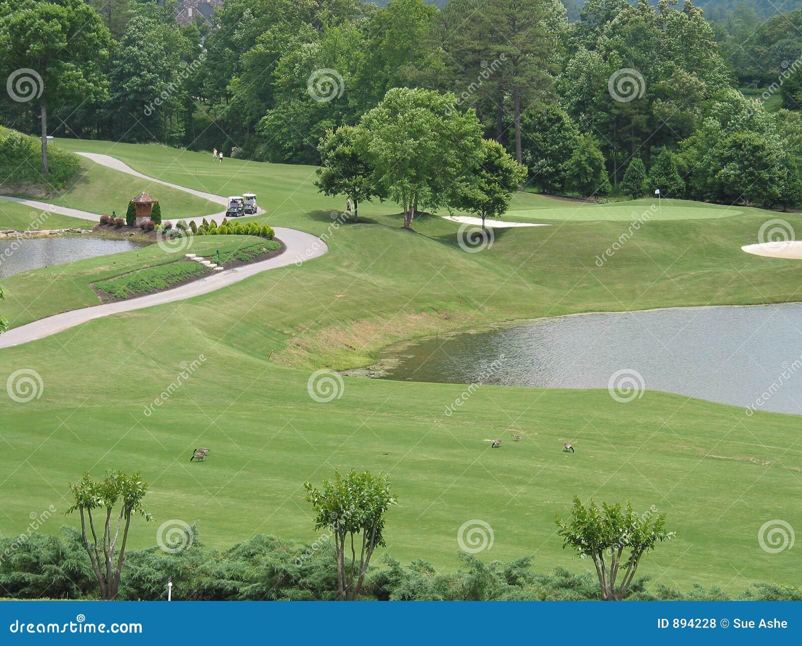 Groźby kursów golfowa wody