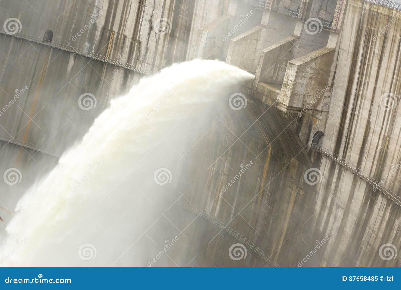 Grobelna rozładowanie woda