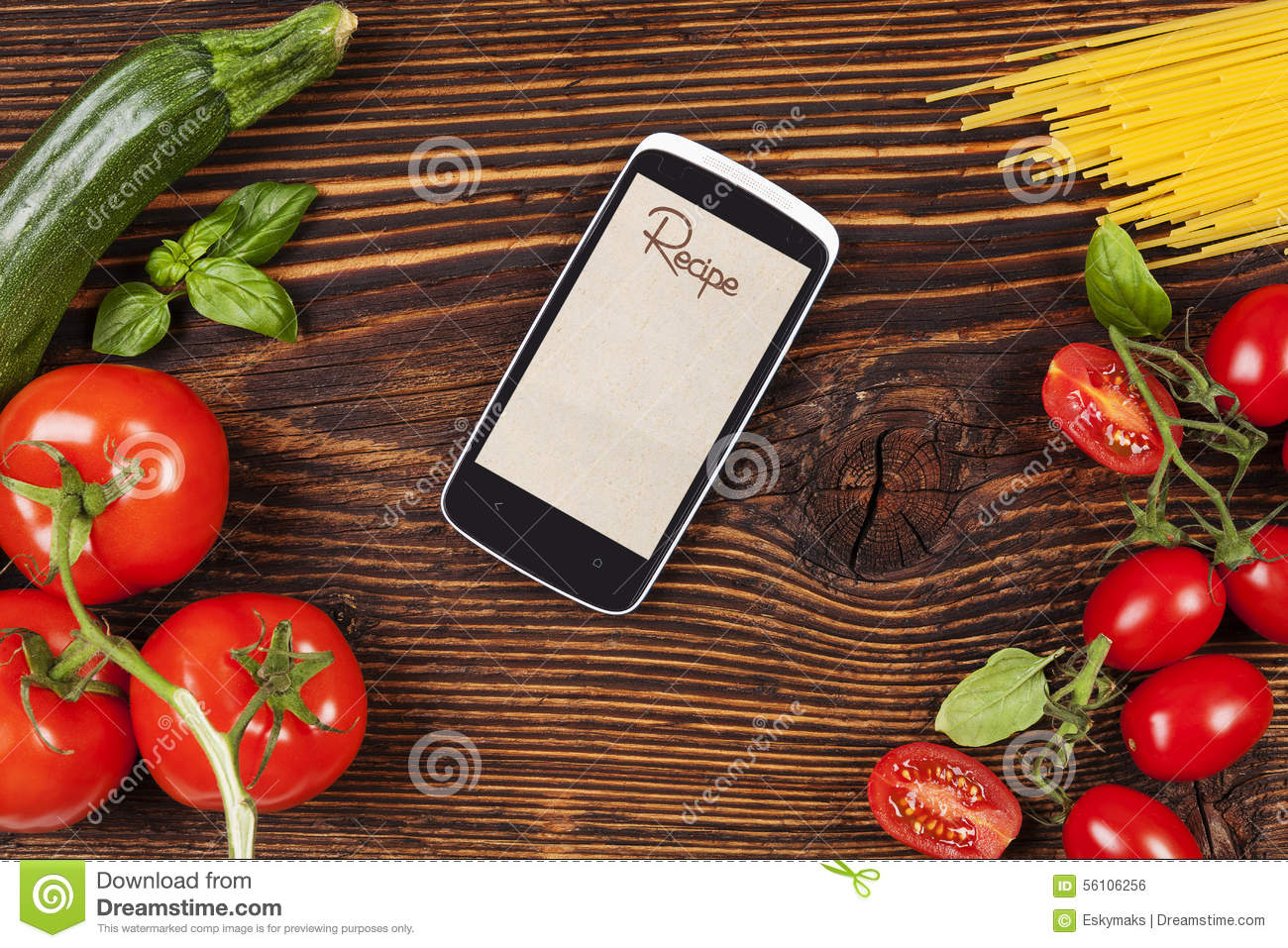 Groceries and cooking stock photo image 56106256 - Contemporary cuisine recipes ...