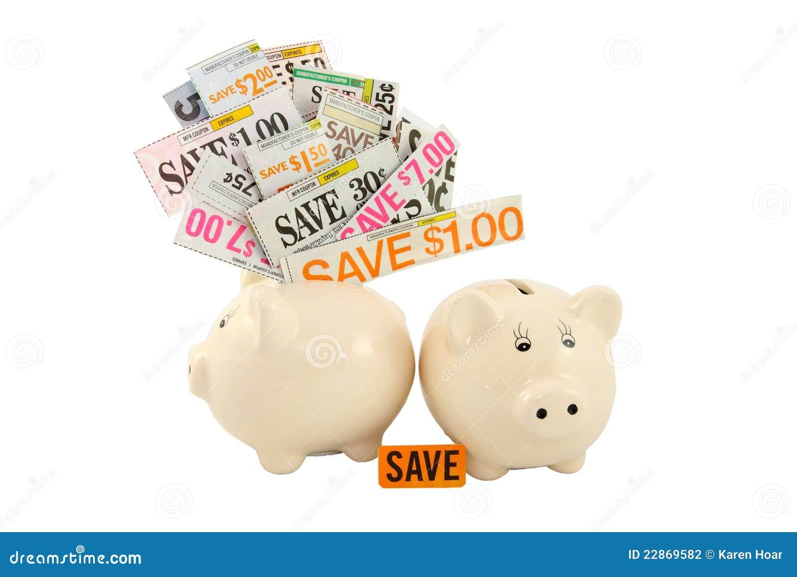 Piggy coupons