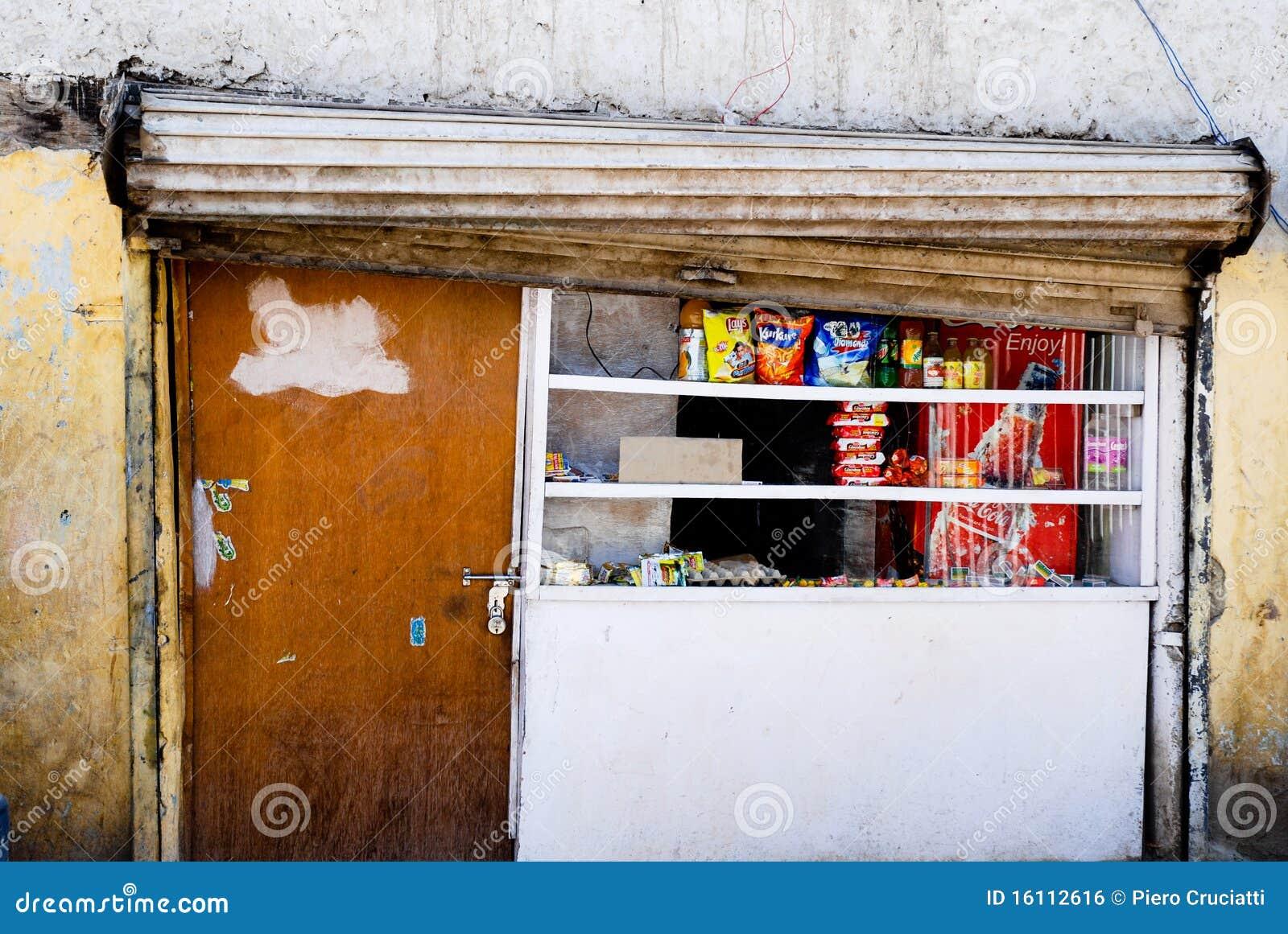 Grocery shop in leh editorial photo image 16112616 for Door design kashmir