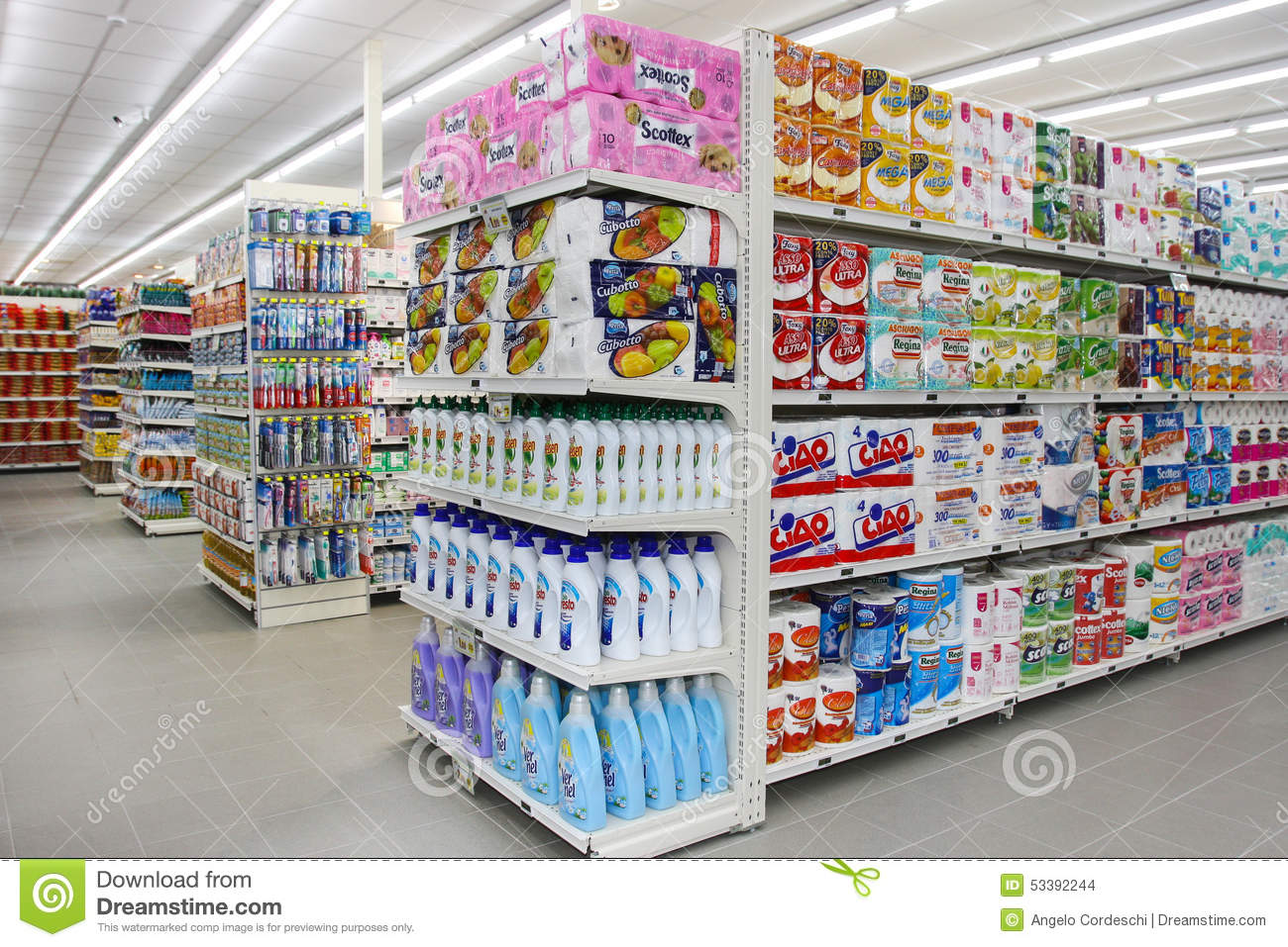 Exhibition Stand Design Italy : Grocery shop shelves and products item shelving