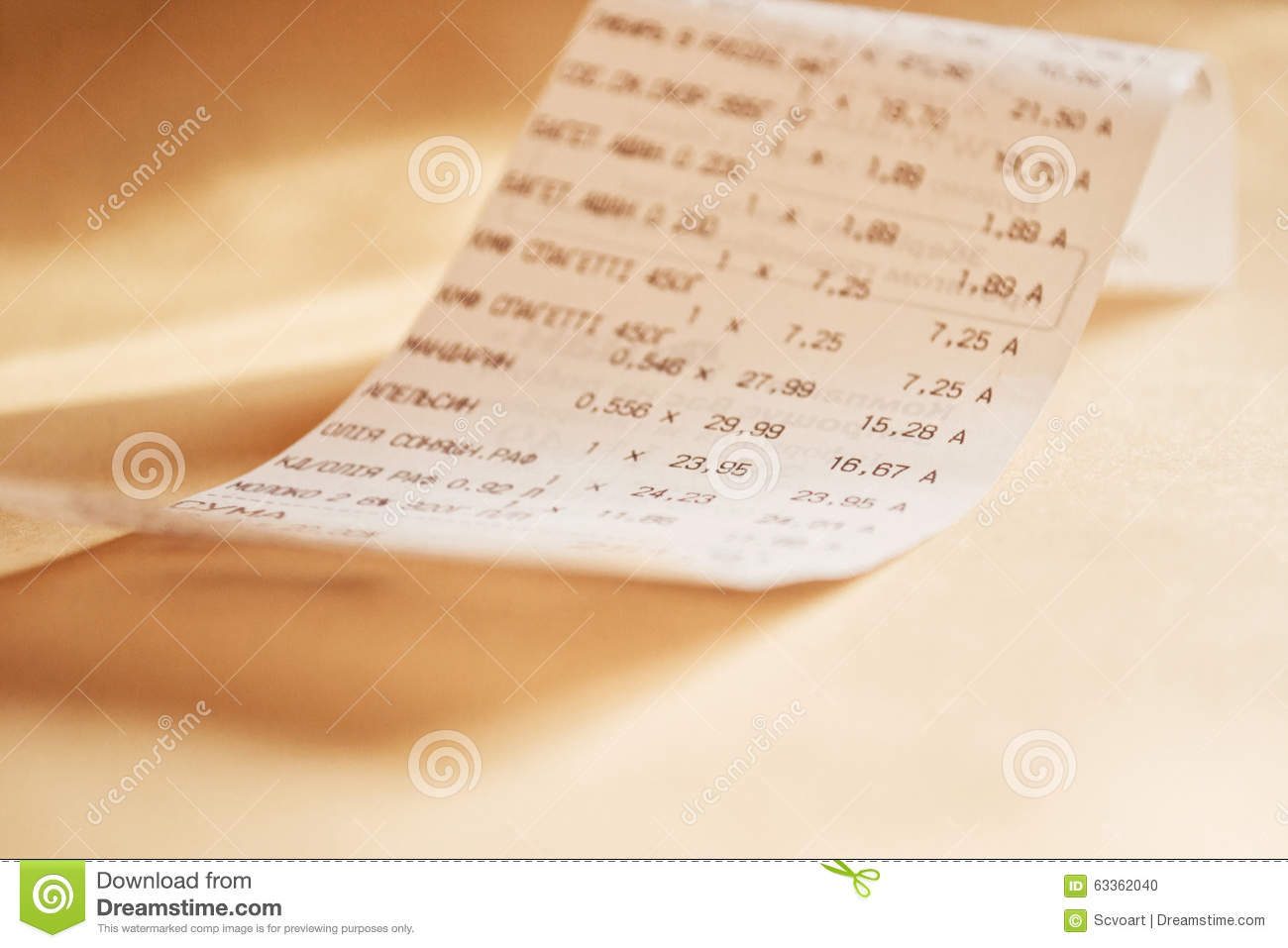 grocery shopping list stock photo image of market budget 63362040