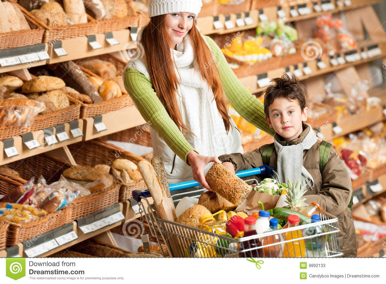 Warehouse grocery shopping online