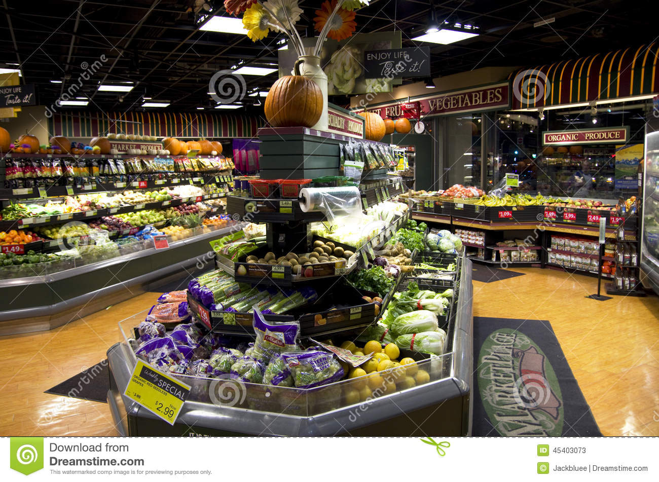 Grocery Shopping Store Editorial Stock Photo Image Of Store 45403073
