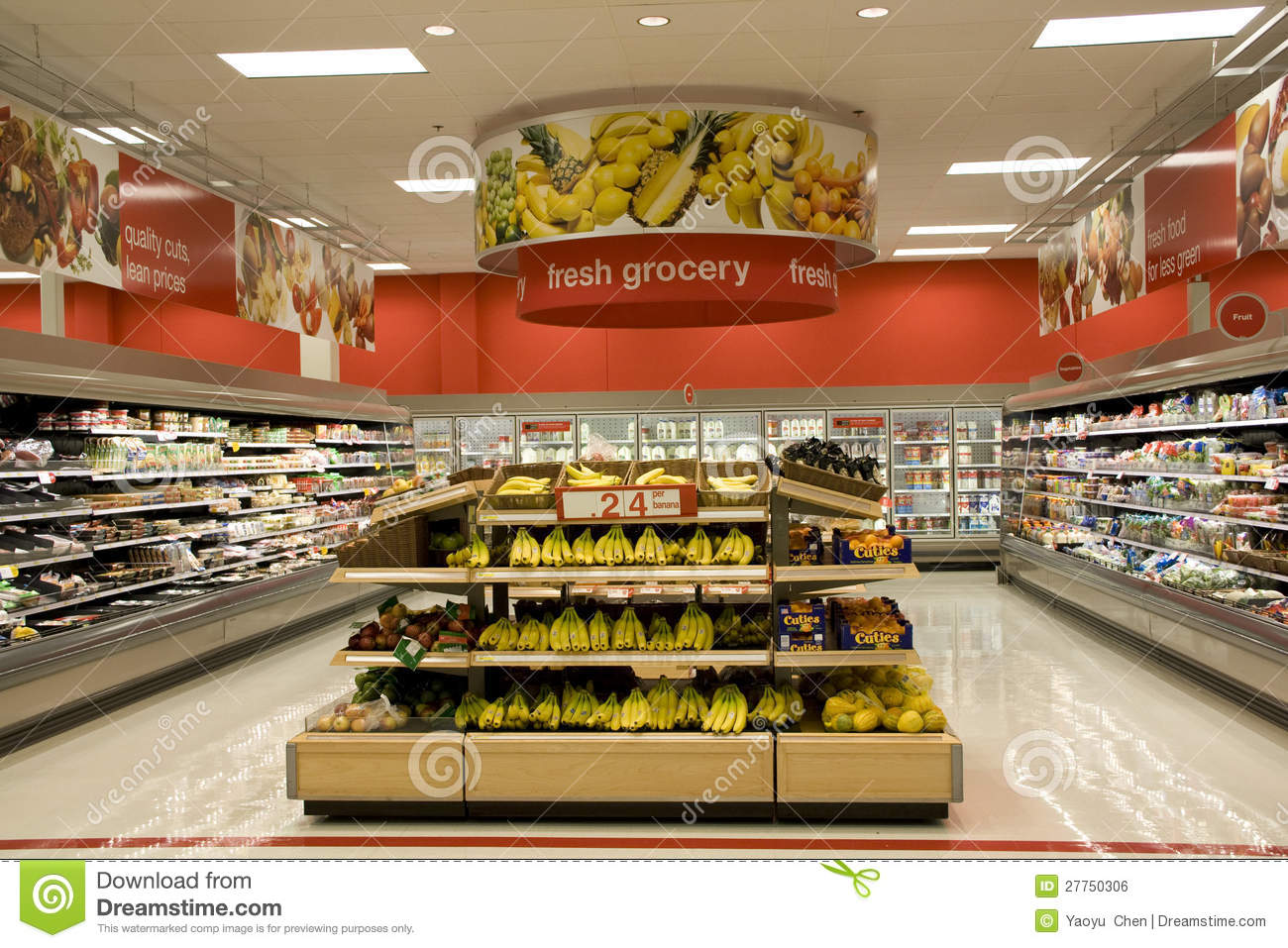 Grocery Store Editorial Photo Image 27750306