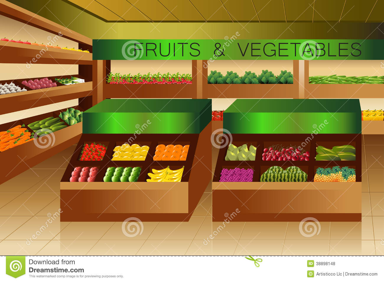 https://thumbs.dreamstime.com/z/grocery-store-fruits-vegetables-section-vector-illustration-38898148.jpg