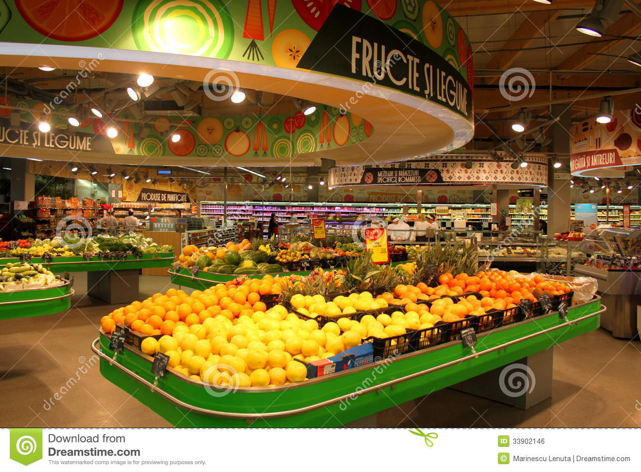 Grocery Store Editorial Photo - Image: 33902146