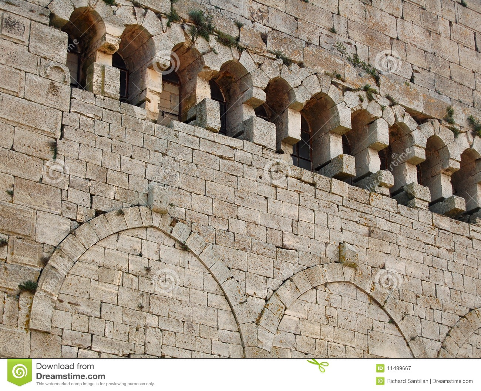 Grodowa ściana