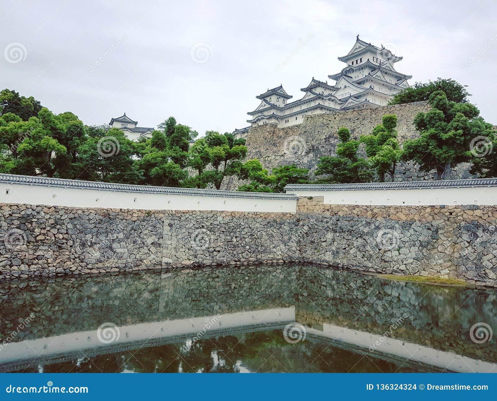 Grodowy Himeji Japan
