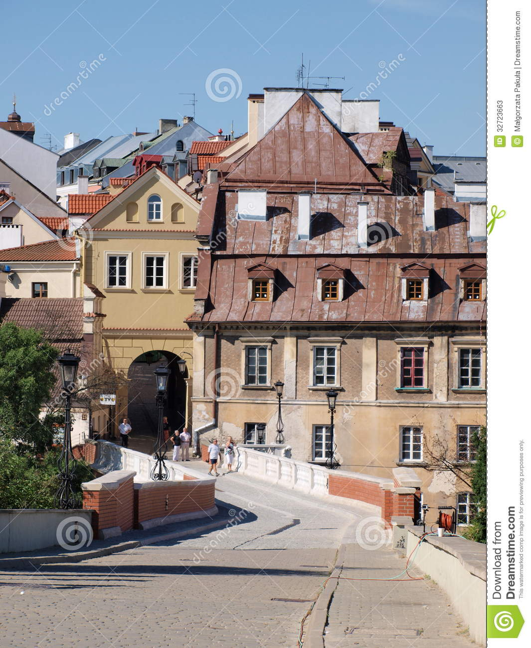 Grodzka Gate Lublin Poland Stock Photos Image 32723663