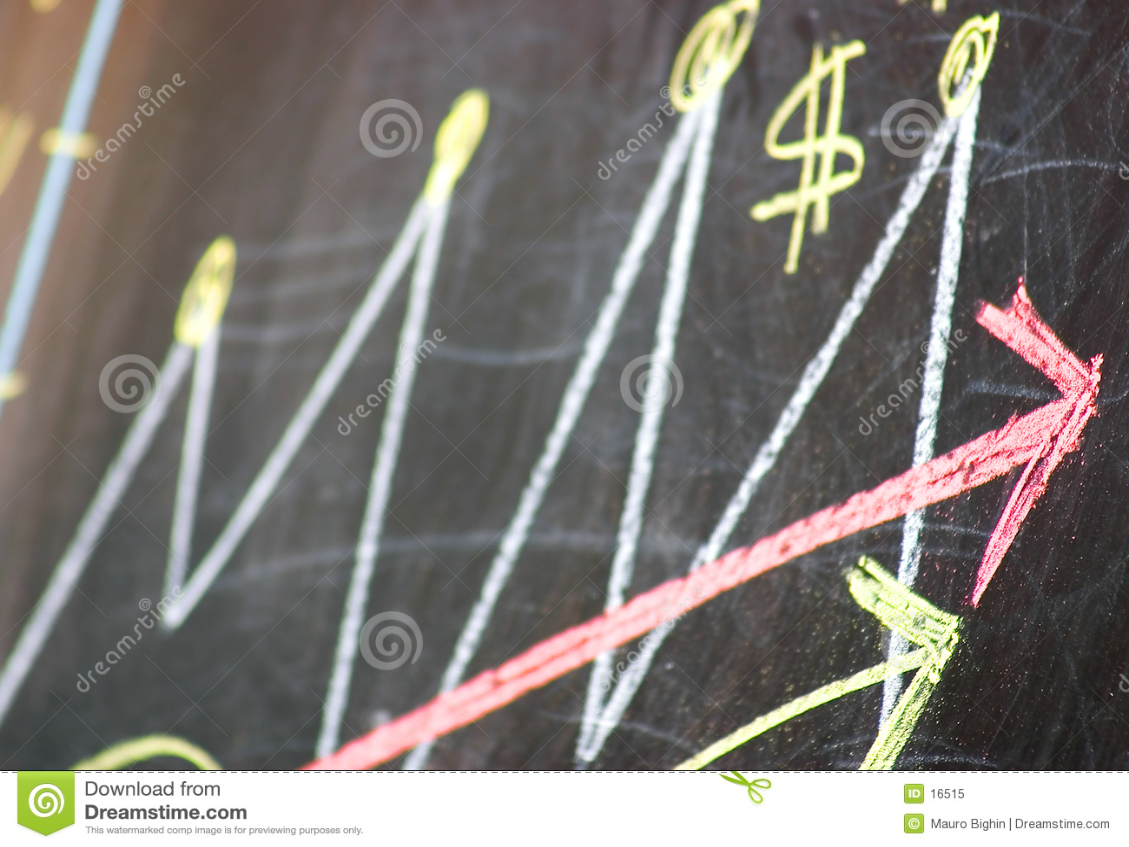 Groeiend bedrijfssucces
