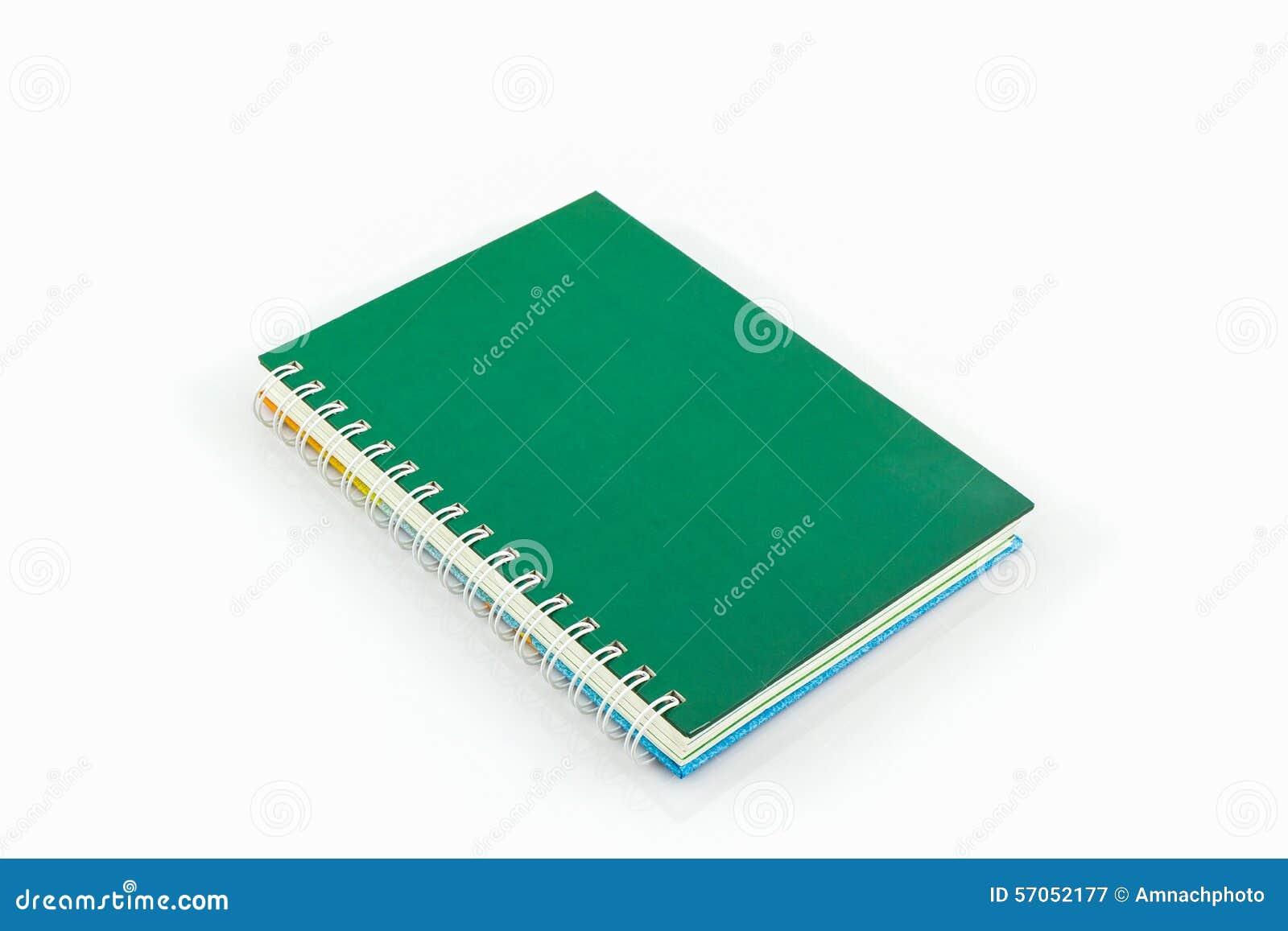 Groen agendaboek