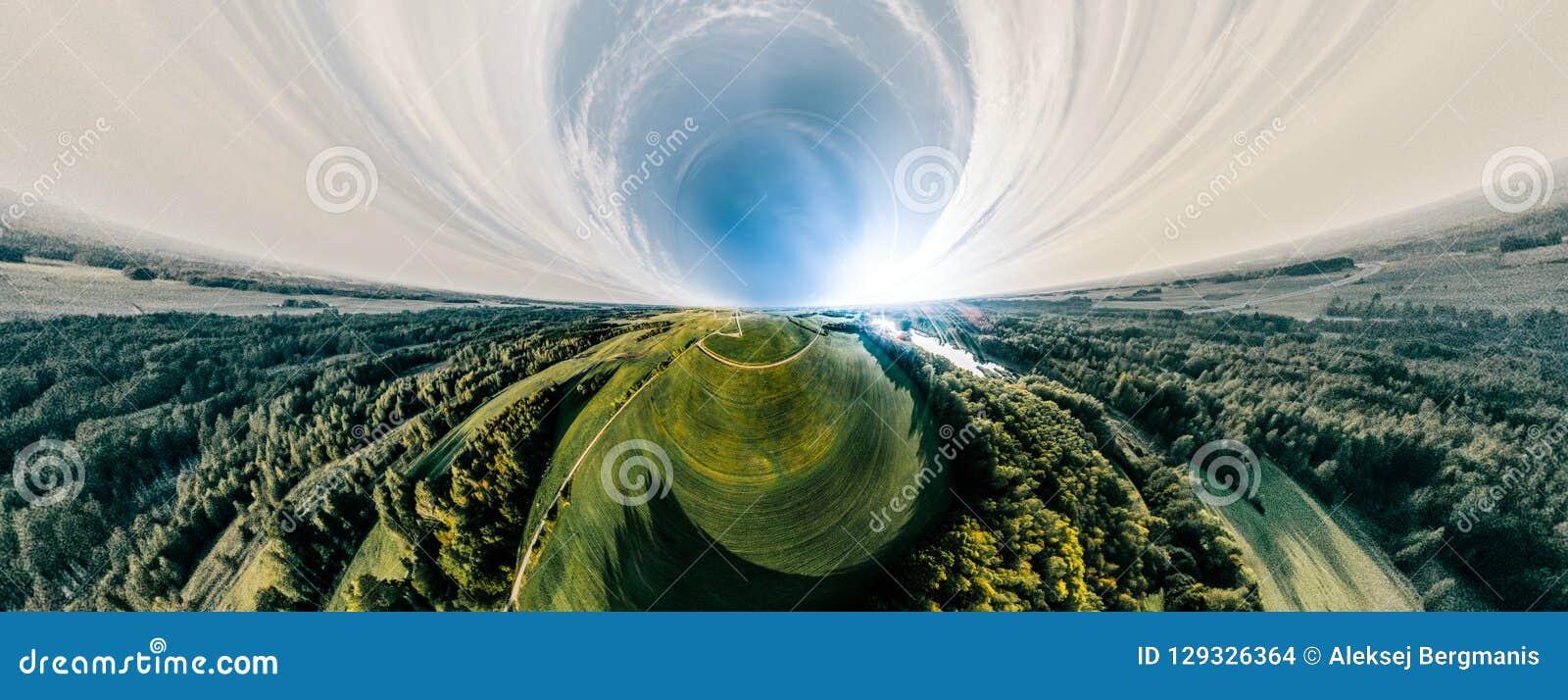 Groen gebied en bosaard in Litouwen