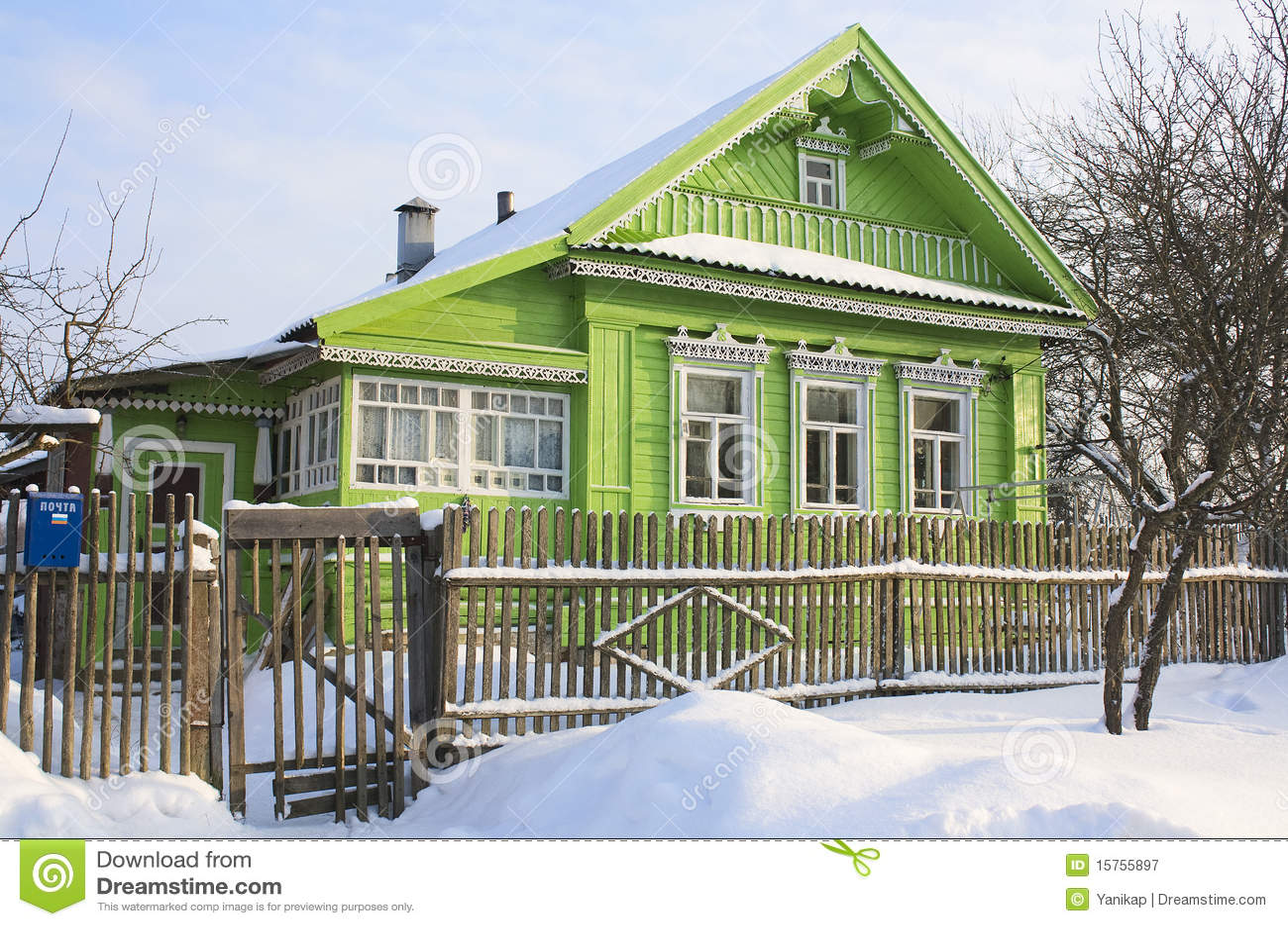 Groen huis in sneeuw stock afbeelding afbeelding bestaande uit koude 15755897 - Groen huis model ...