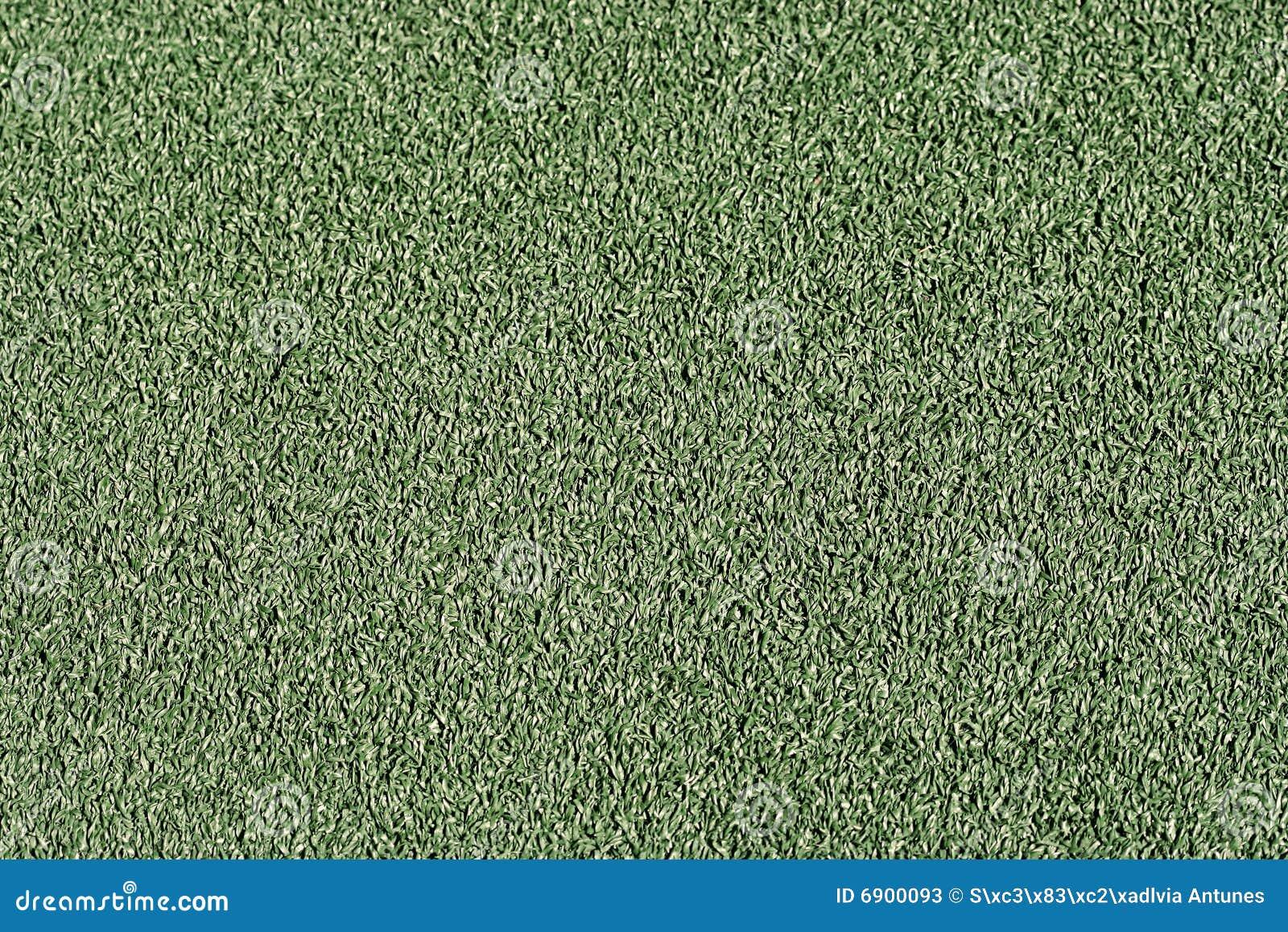 Groen kunstmatig gras