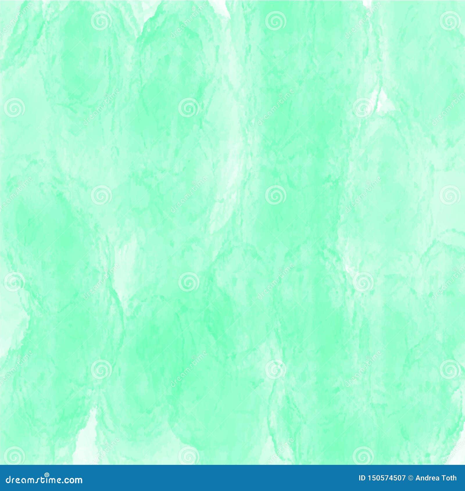 Groen waterverf achtergrond vectortextuurpatroon voor websites, presentaties of kunstwerk