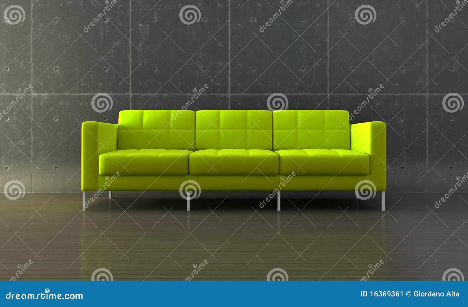 Groene Bank Stock Afbeelding   Afbeelding  16369361