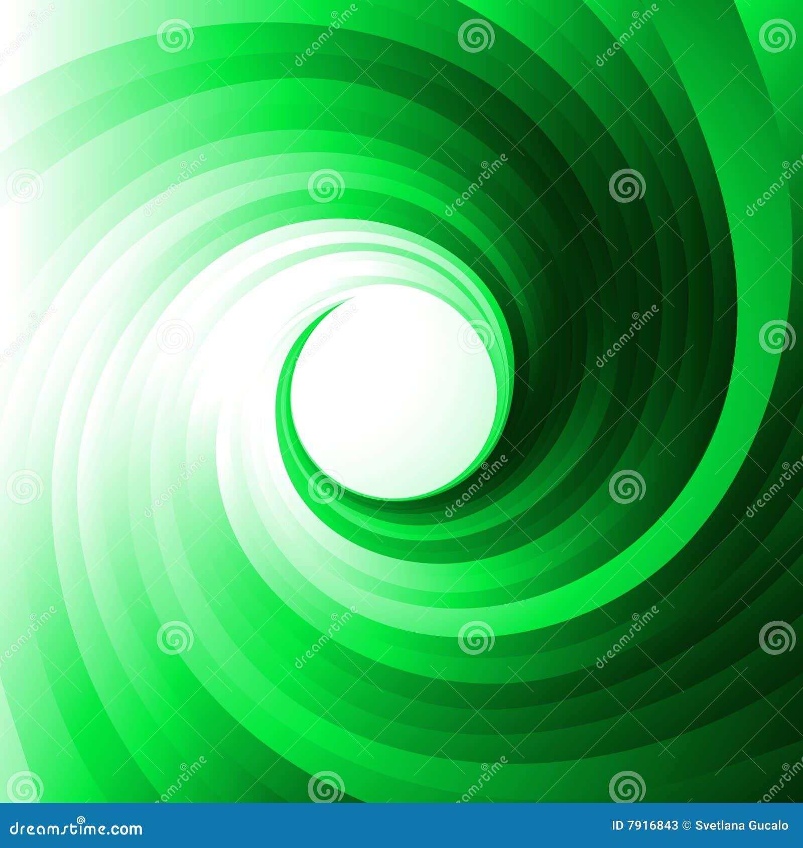 Groene draaikolk