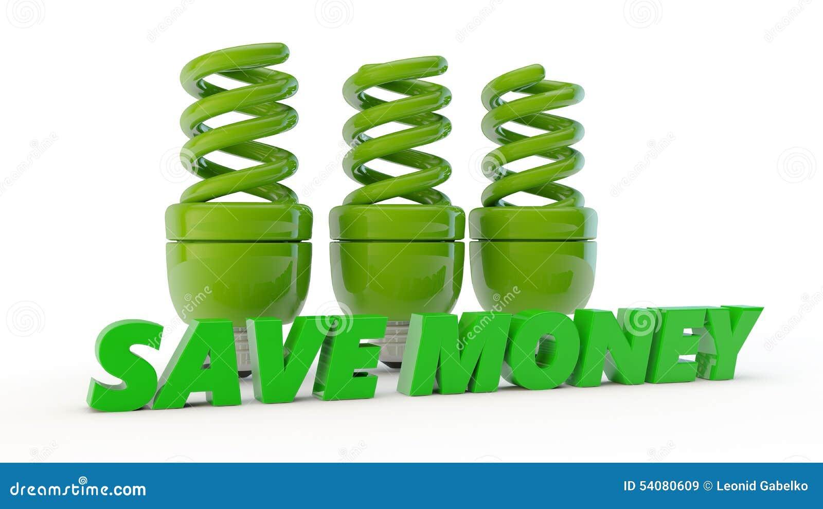 Groene economische lampen