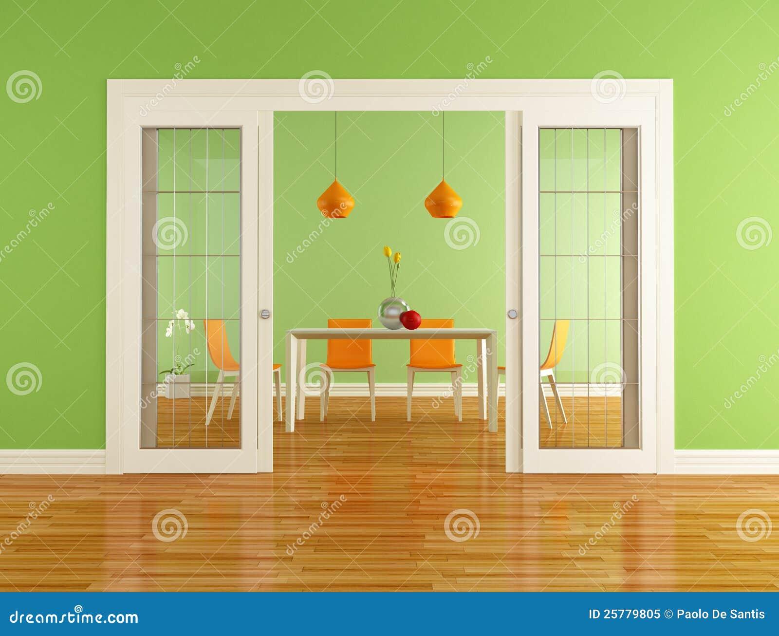 Eetkamer Van Oranje : Strakke keuken lounge eetkamer in kantoorpand walhalla