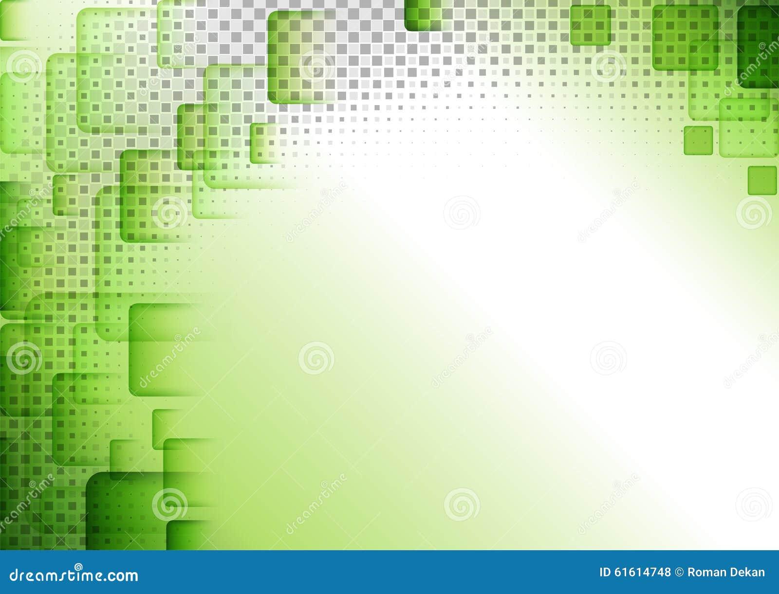 Groene Geregelde Abstracte Achtergrond