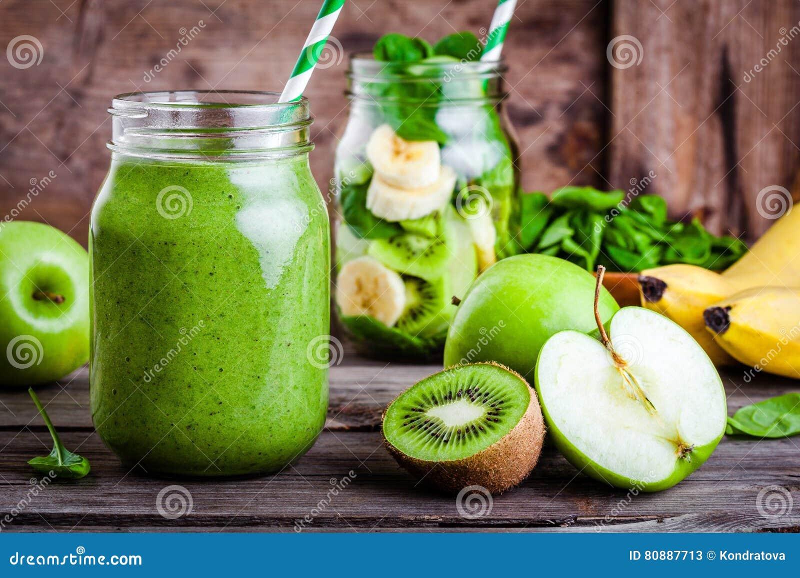 smoothie appel kiwi