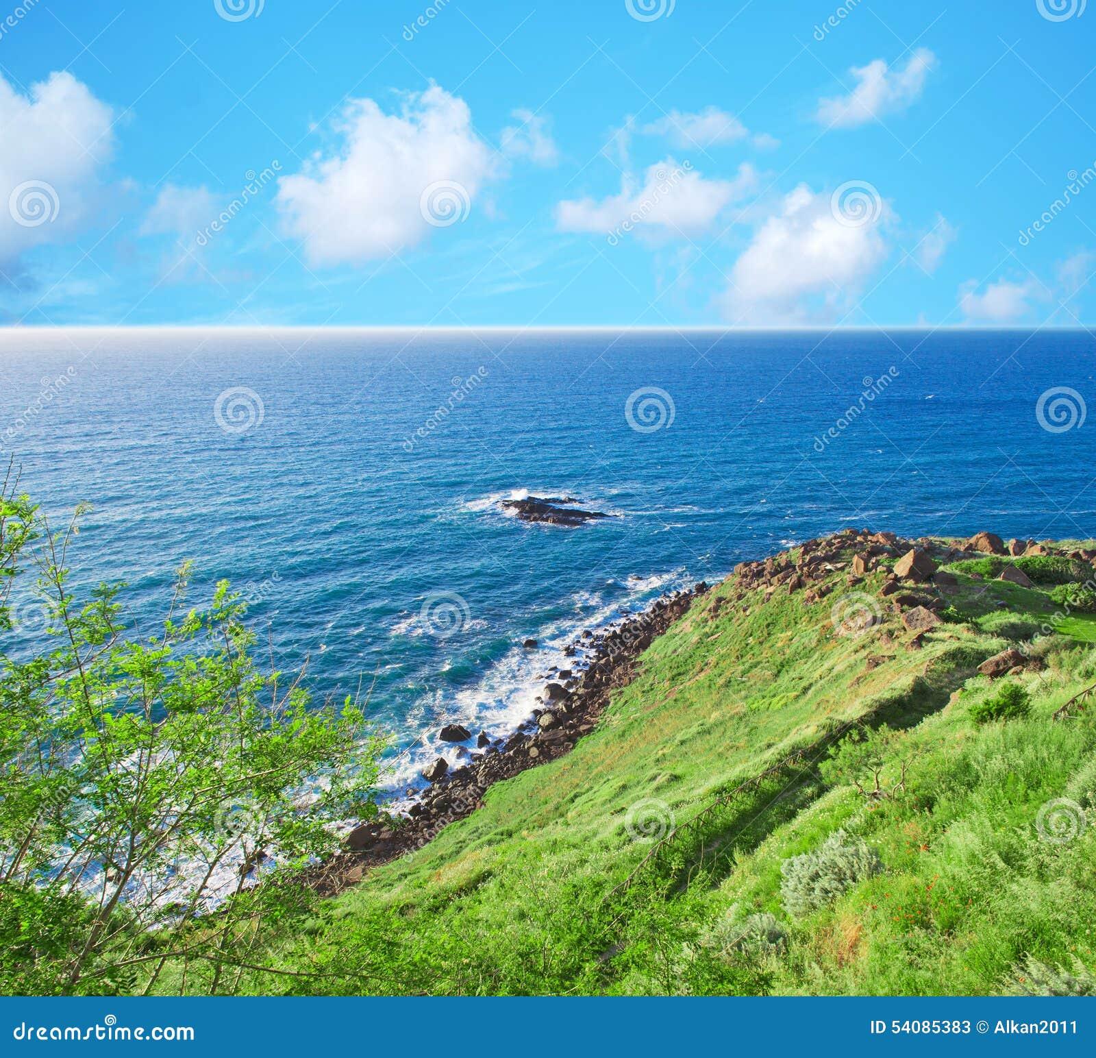 Groene kust in Castelsardo