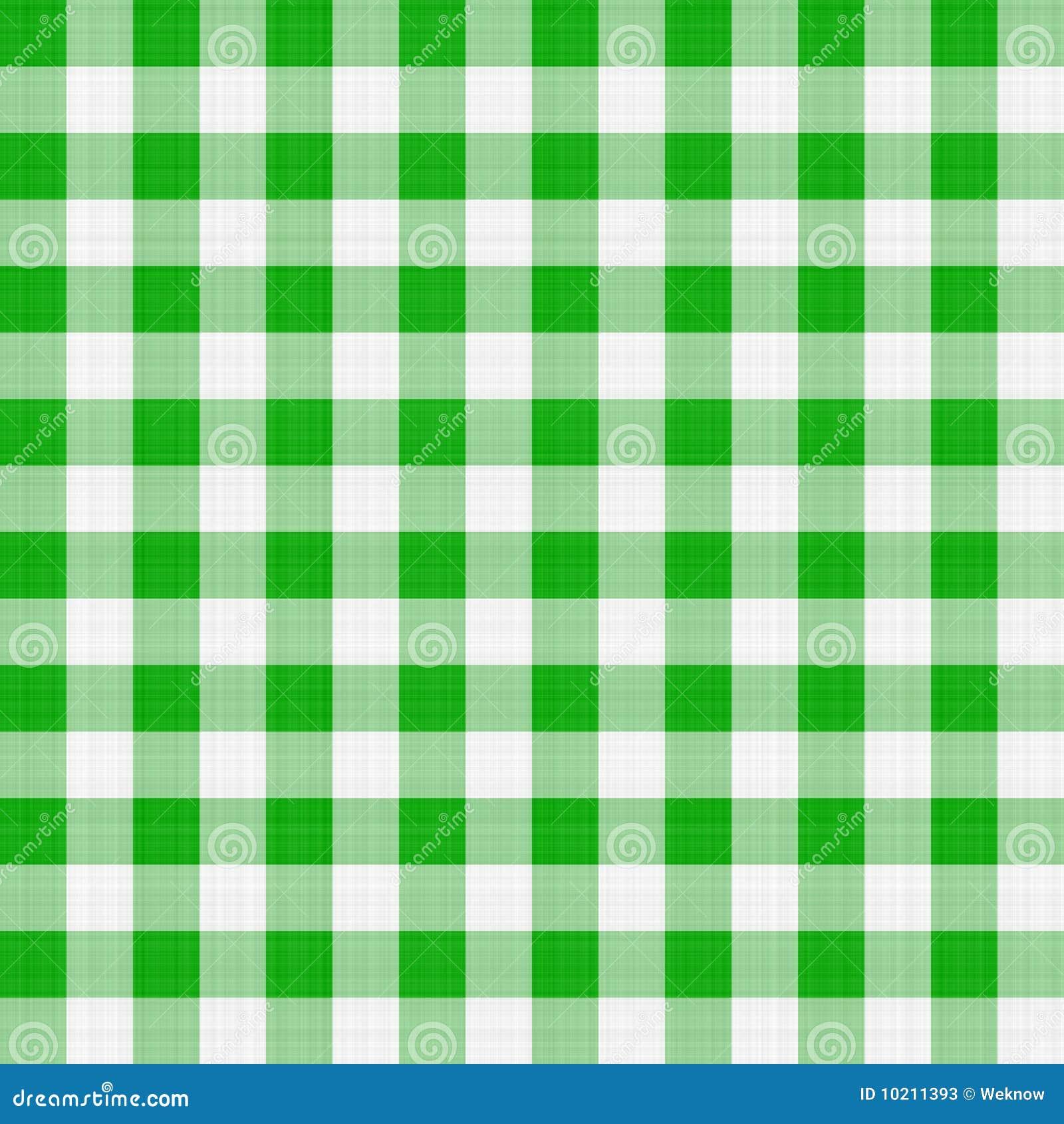 Groene lijstdoek
