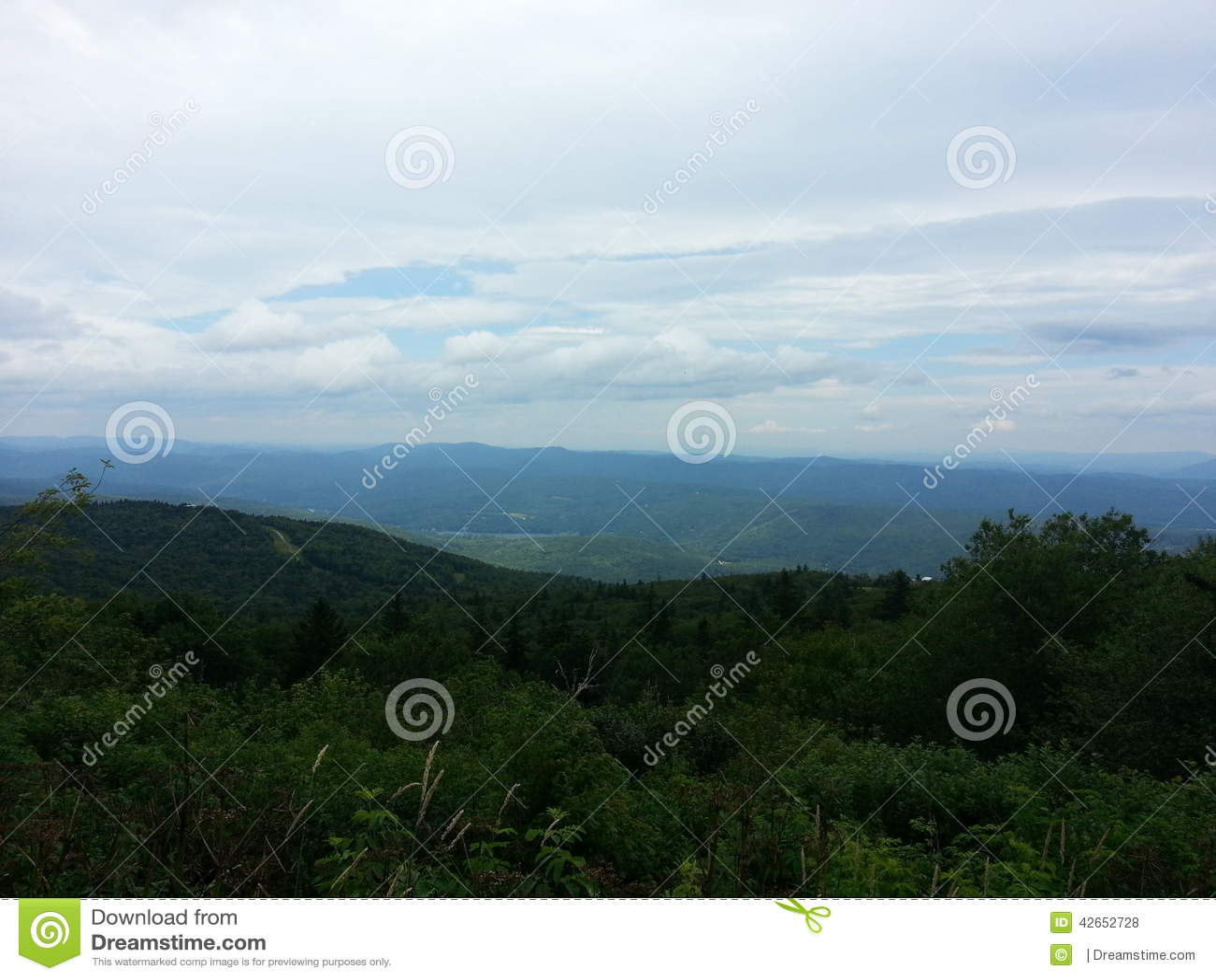 Groene mooie berg