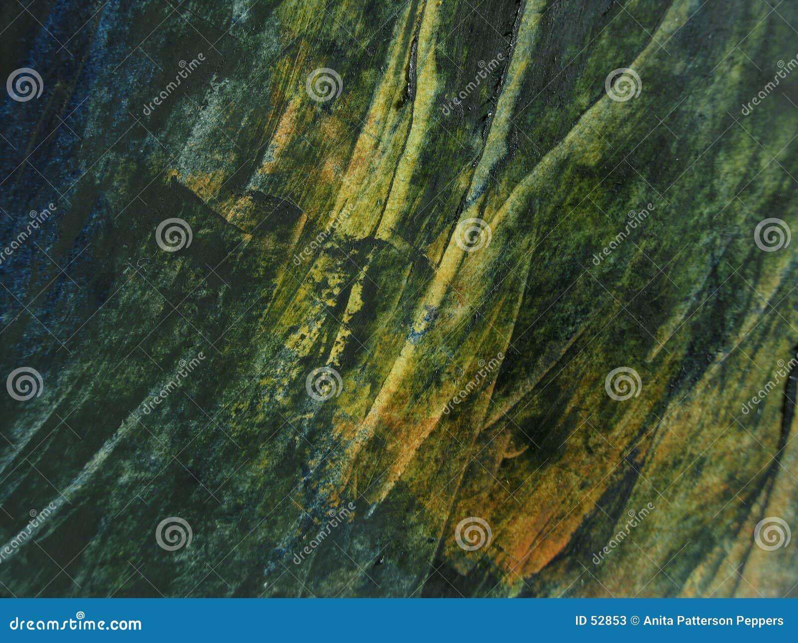 Groene olieverftextuur