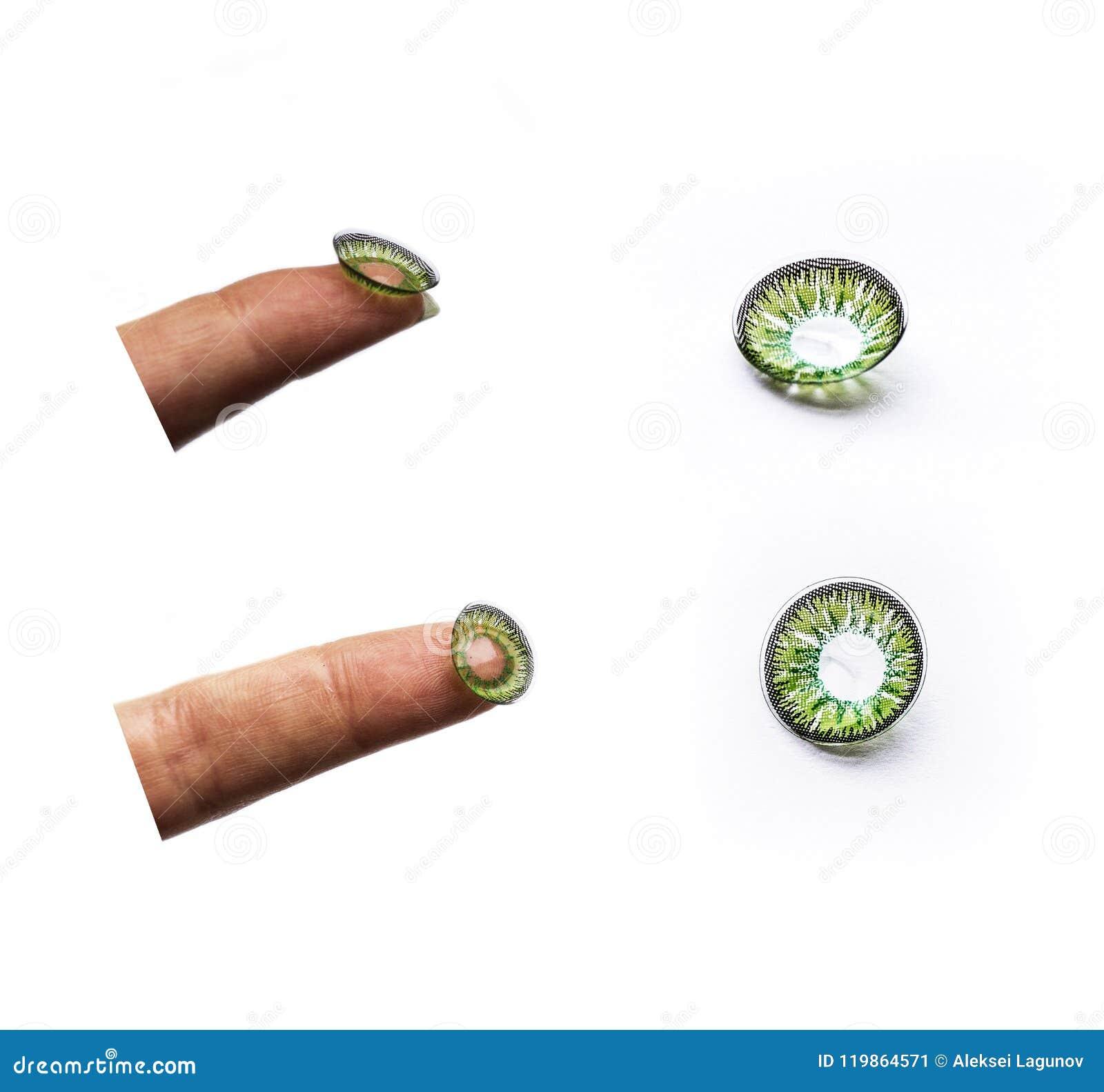 Groene Ooglens, Geïsoleerde Beelden