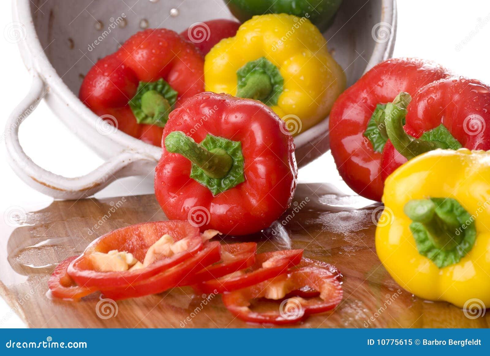 Groene paprika s