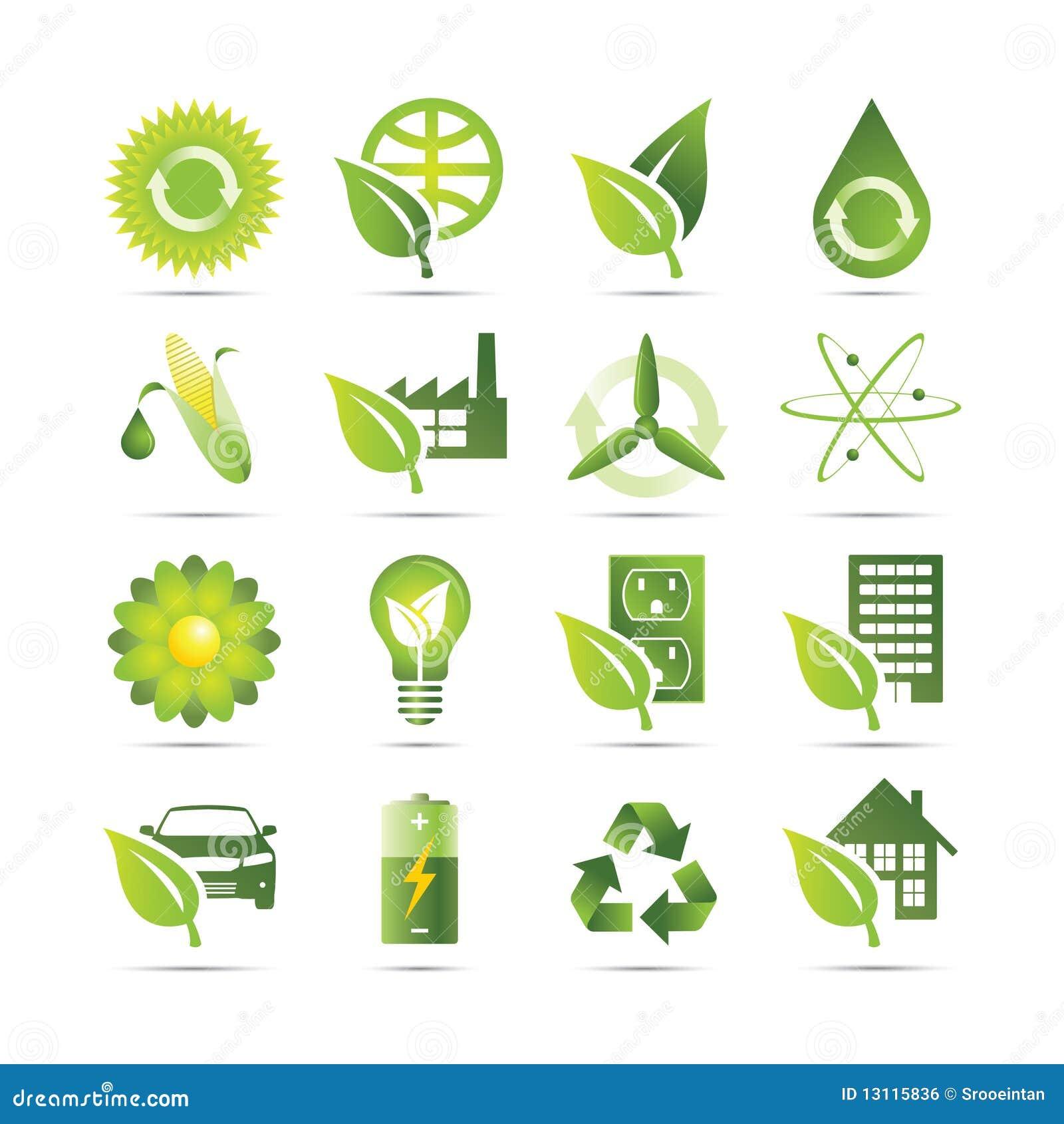 Groene Pictogrammen