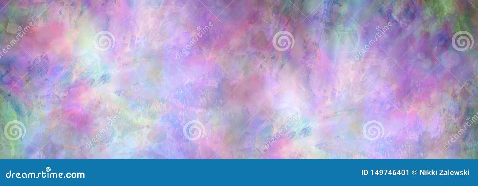 Groene Purpere roze en Blauwe Abstracte Achtergrond