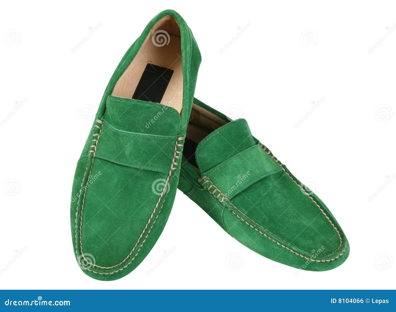 groene lakschoenen